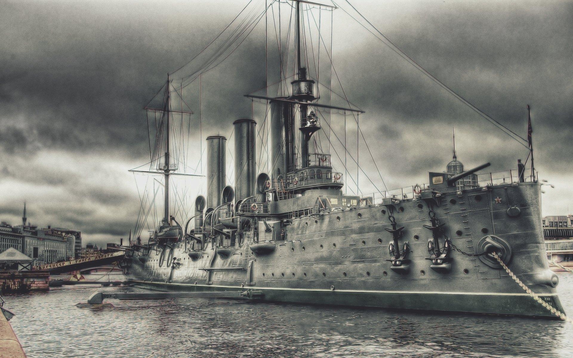 крейсер аврора картинки рисунки