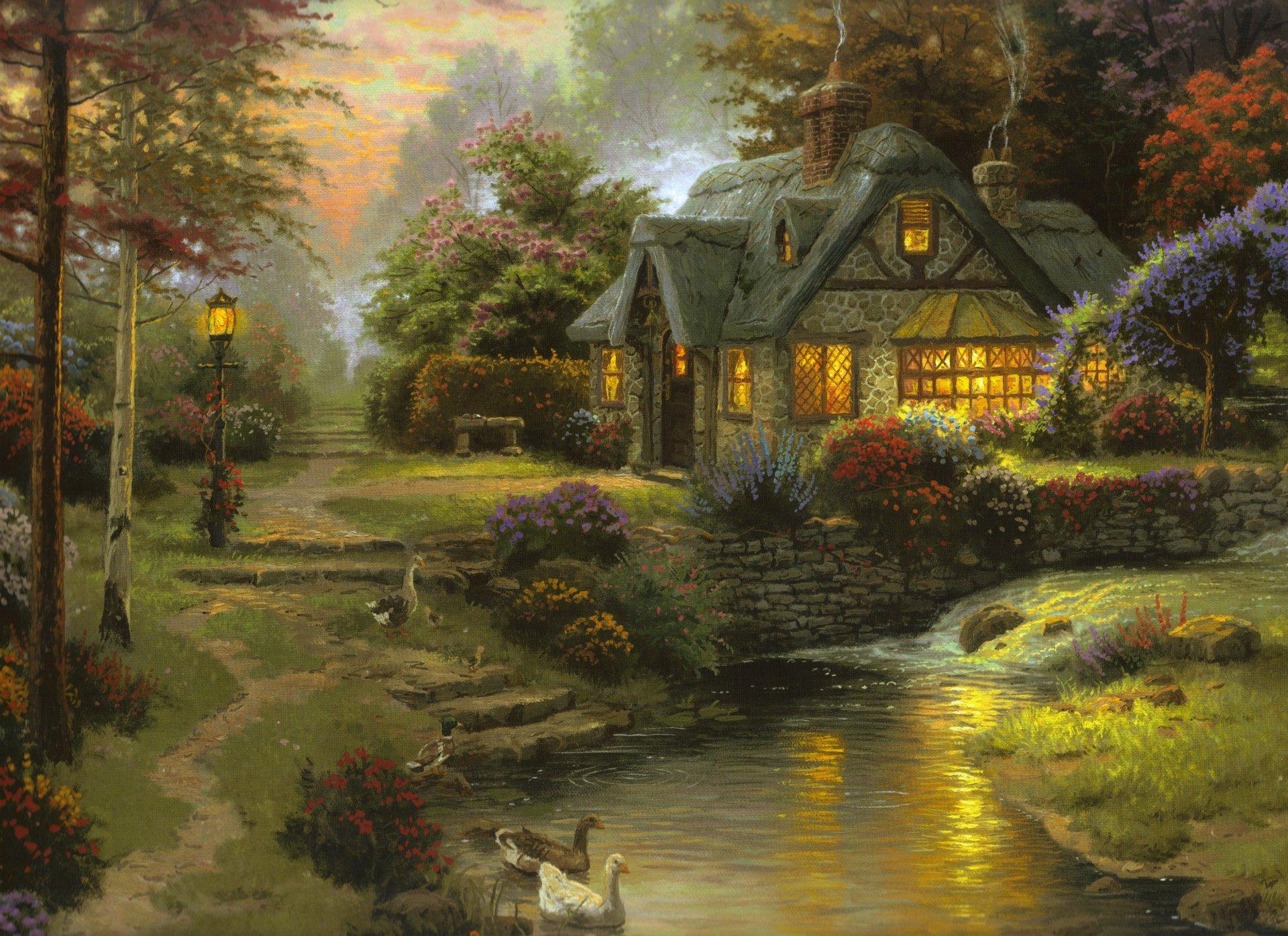 Правах, открытки вечерние пейзажи