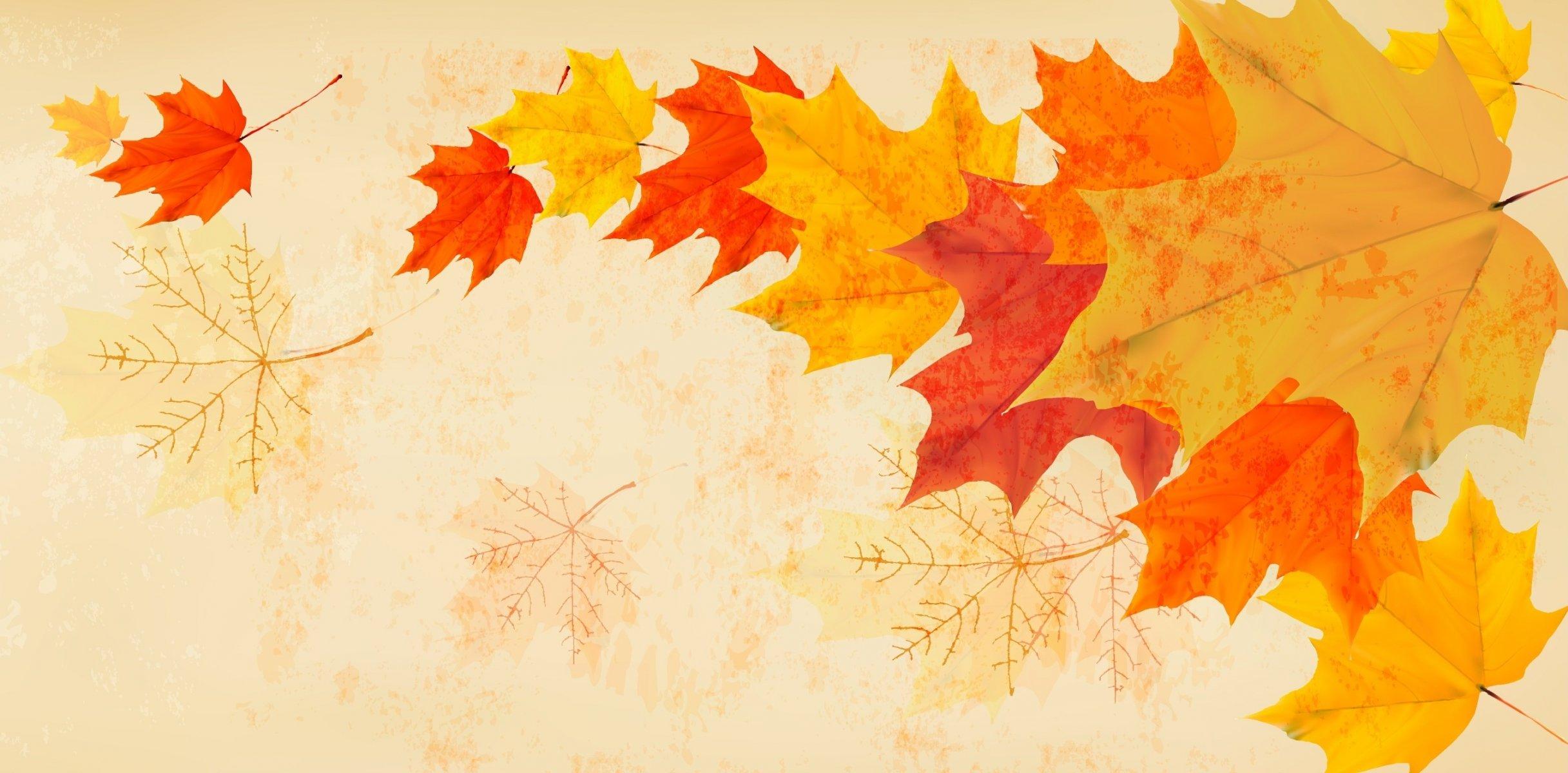 Обои осень, желтый, вектор. Минимализм foto 12