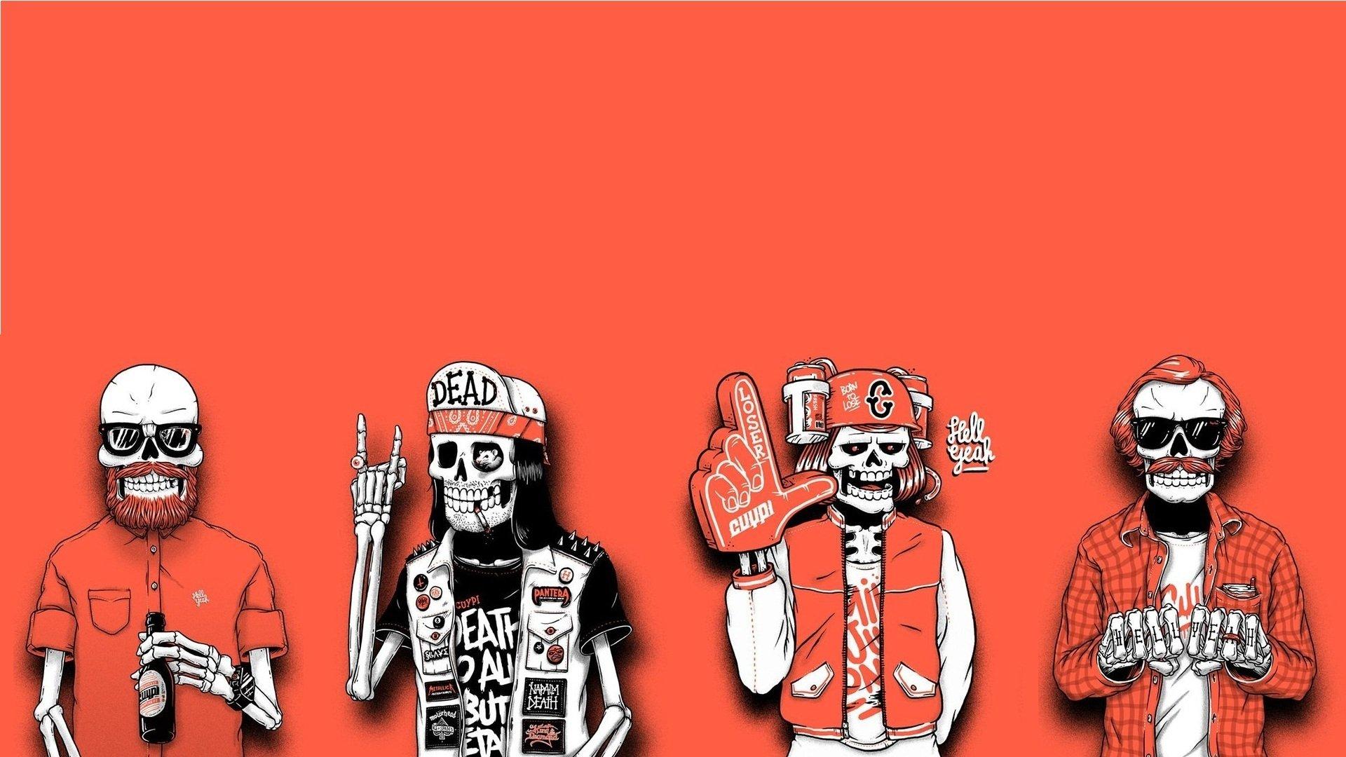 испытывающие скелет обои на айфон здравствуйте