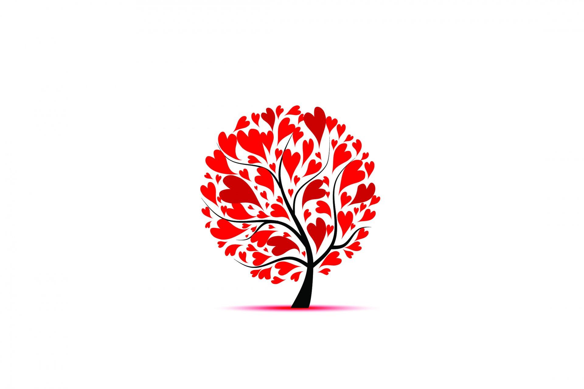 дерево сердца без смс