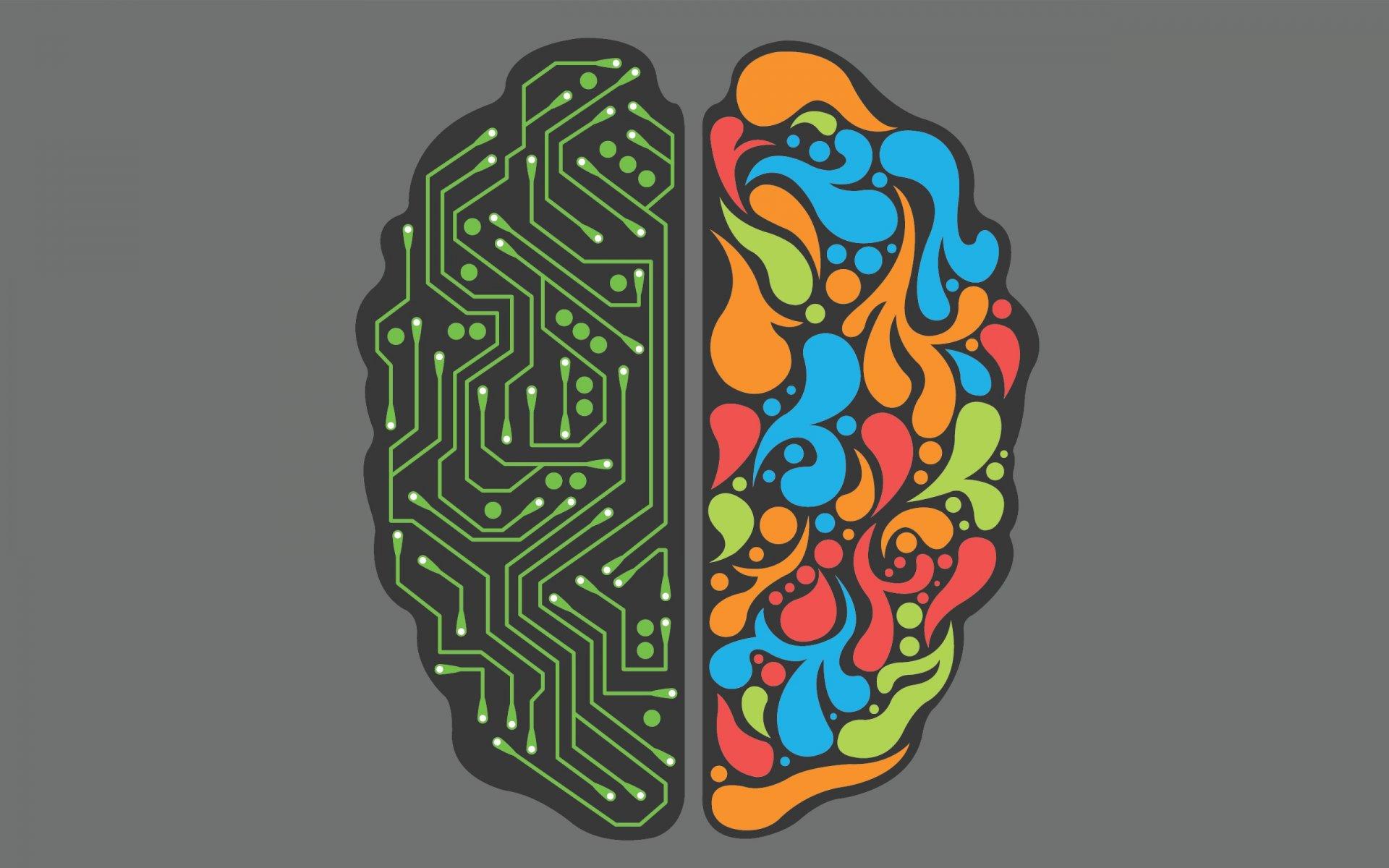 Картинка мозга с надписью мозги, днем рождения драгоценностями