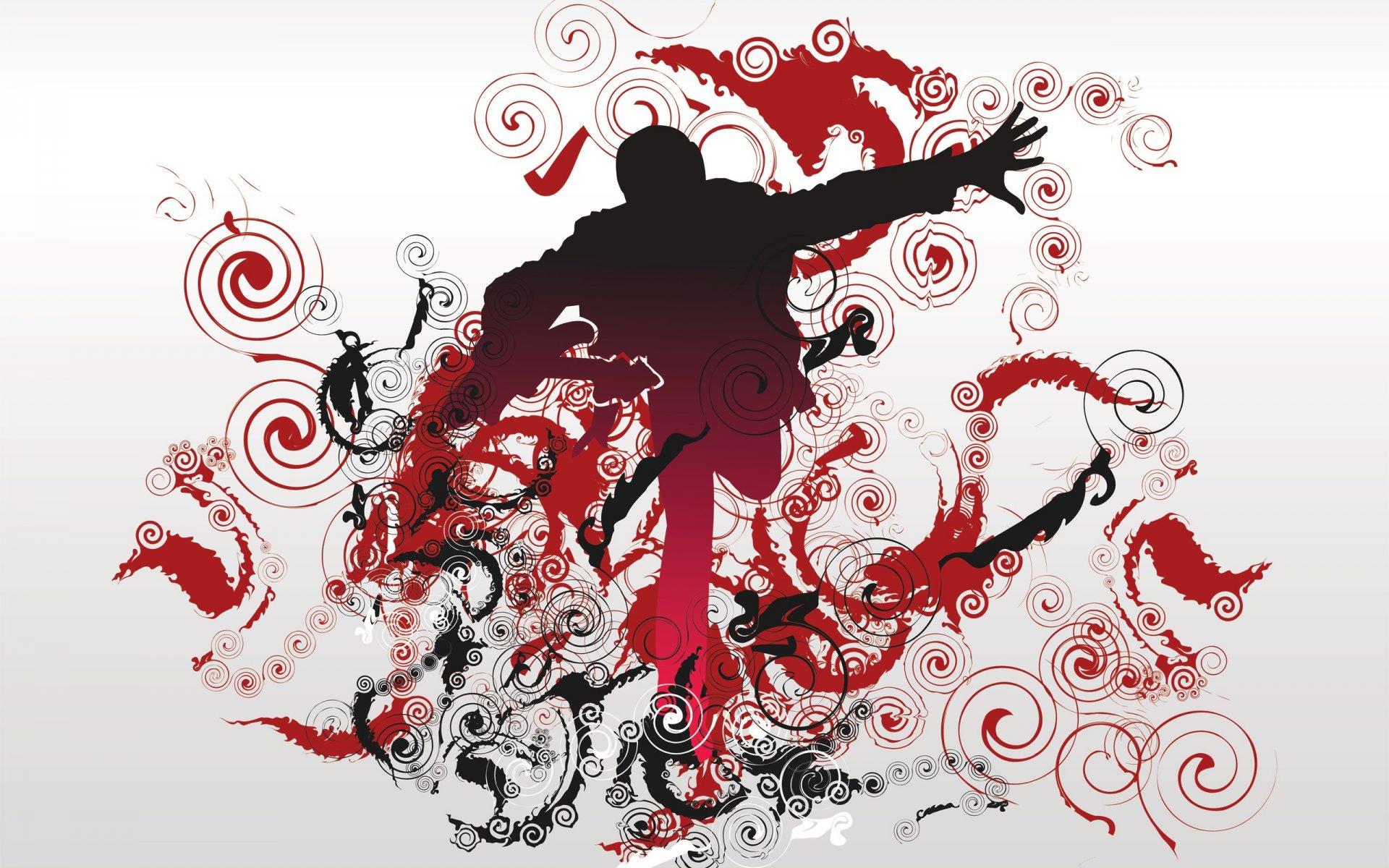 описанию обои с танцами на стену новым человеком имени
