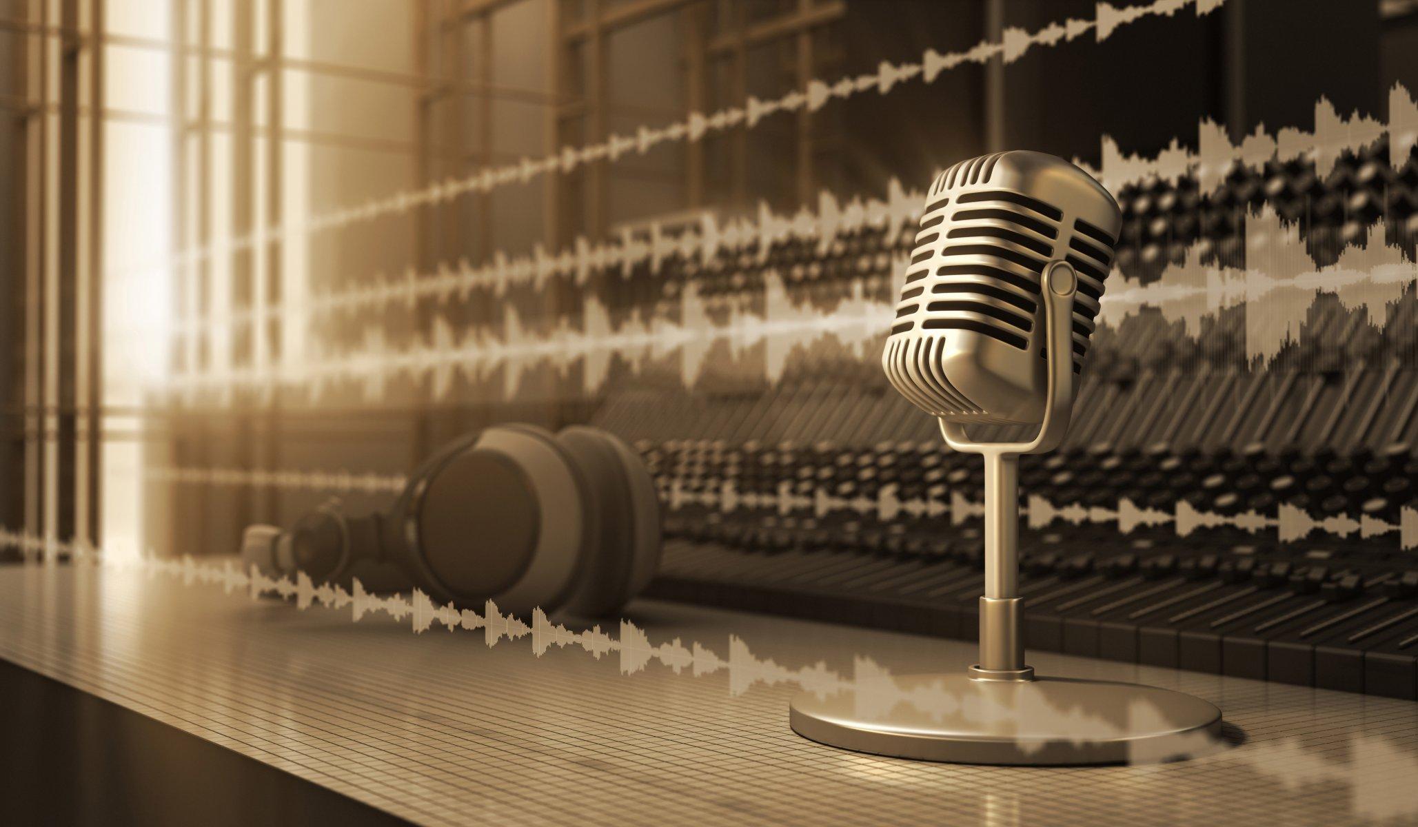 Обои микрофон, стиль, музыка. Музыка foto 18