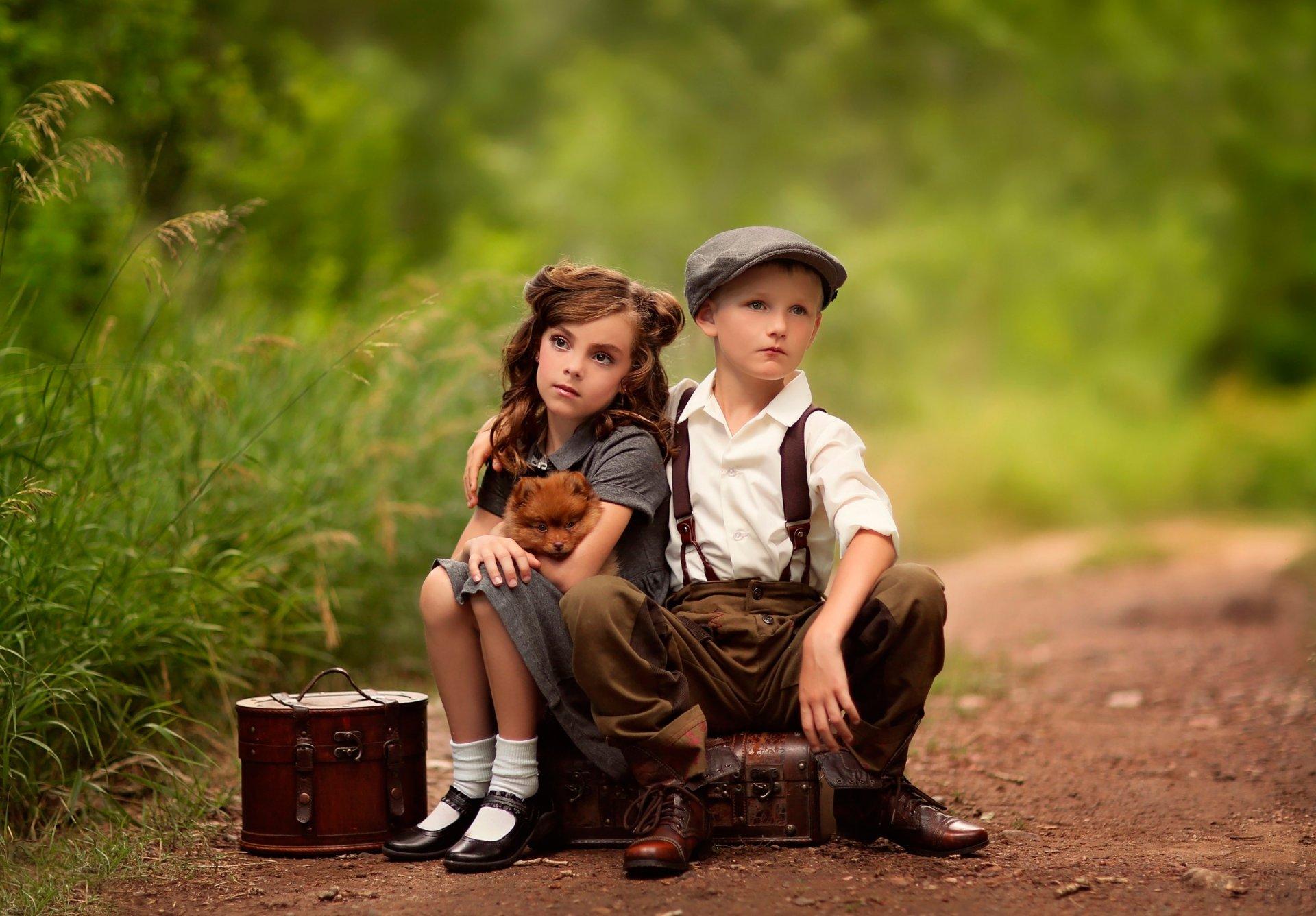 Мальчик с девочкой картинки высокого качества
