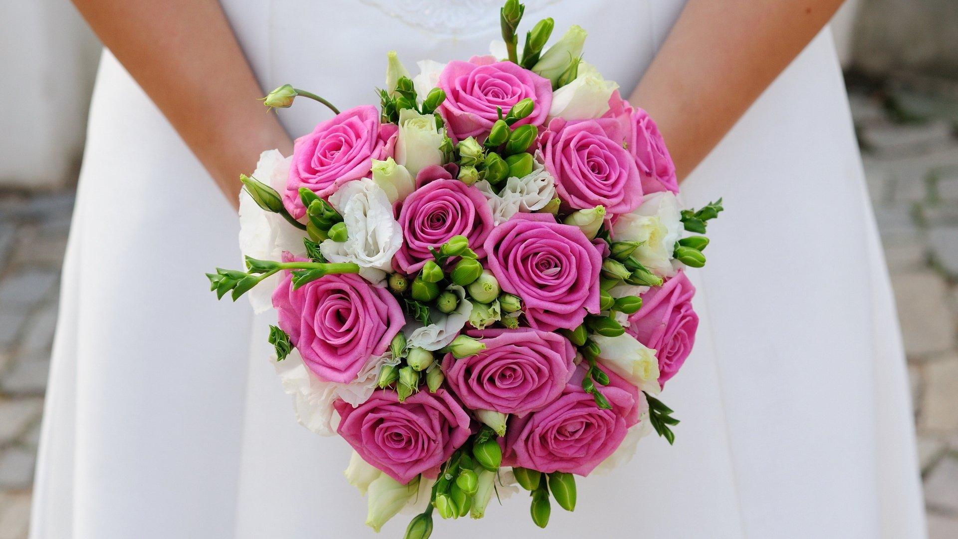 Свадебные цветы: как выбрать самый красивый букет и яркое 63