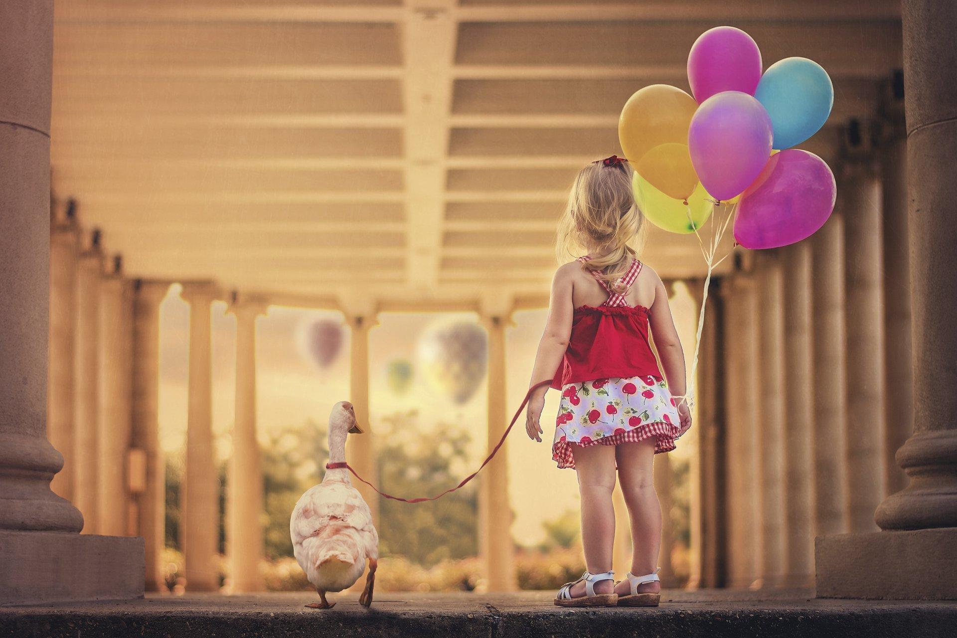 Картинка ребенок с шариками воздушными, открытки стихами день