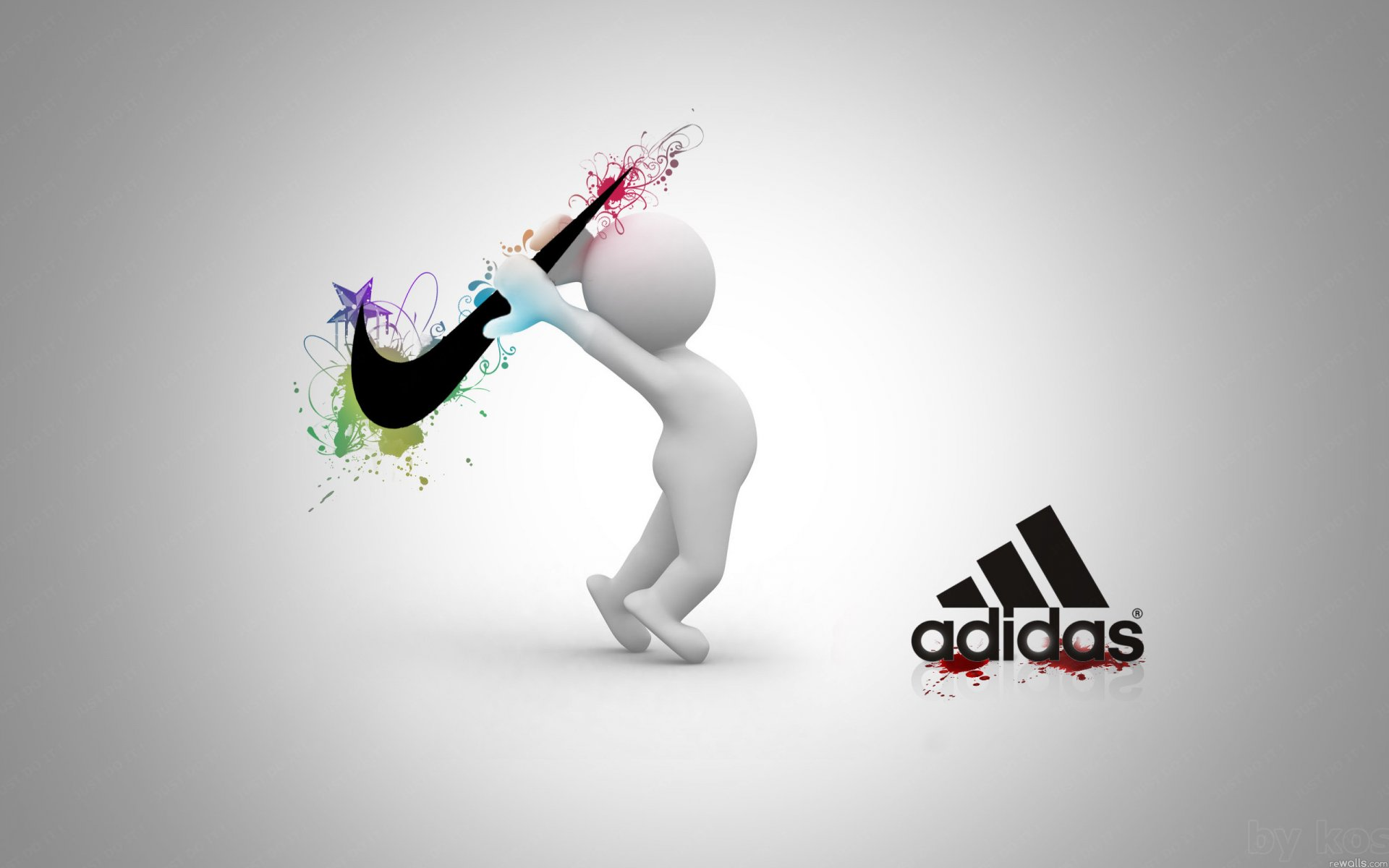 nike vs adidas Nike's trading company is the nissho iwai corporation adidas outsourced its production but the design and development process is based in germany in 1993, adidas moved its production overseas to asia in order stay competitive in the industry.