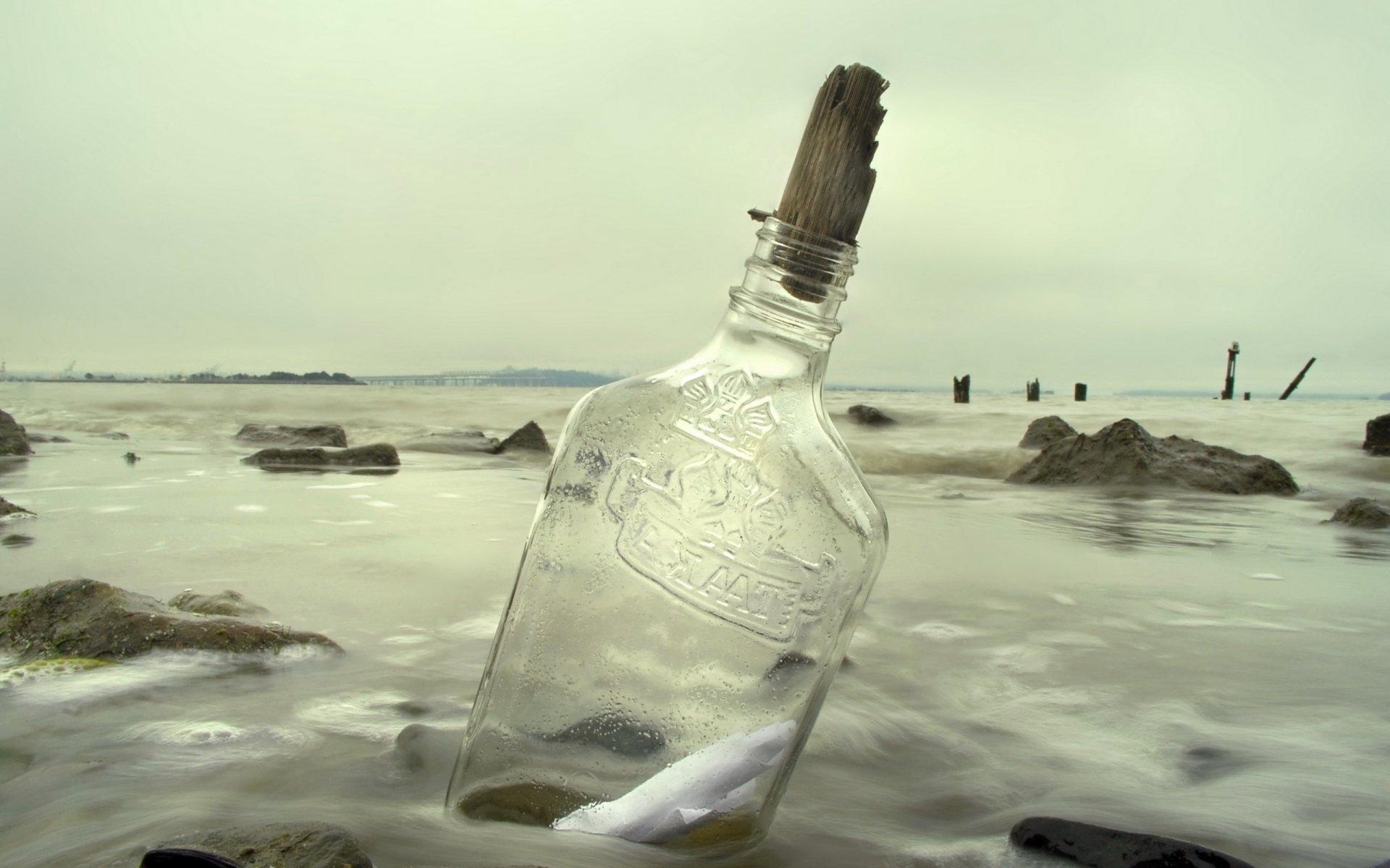 основном картинки бутылок в море днём бракосочетания