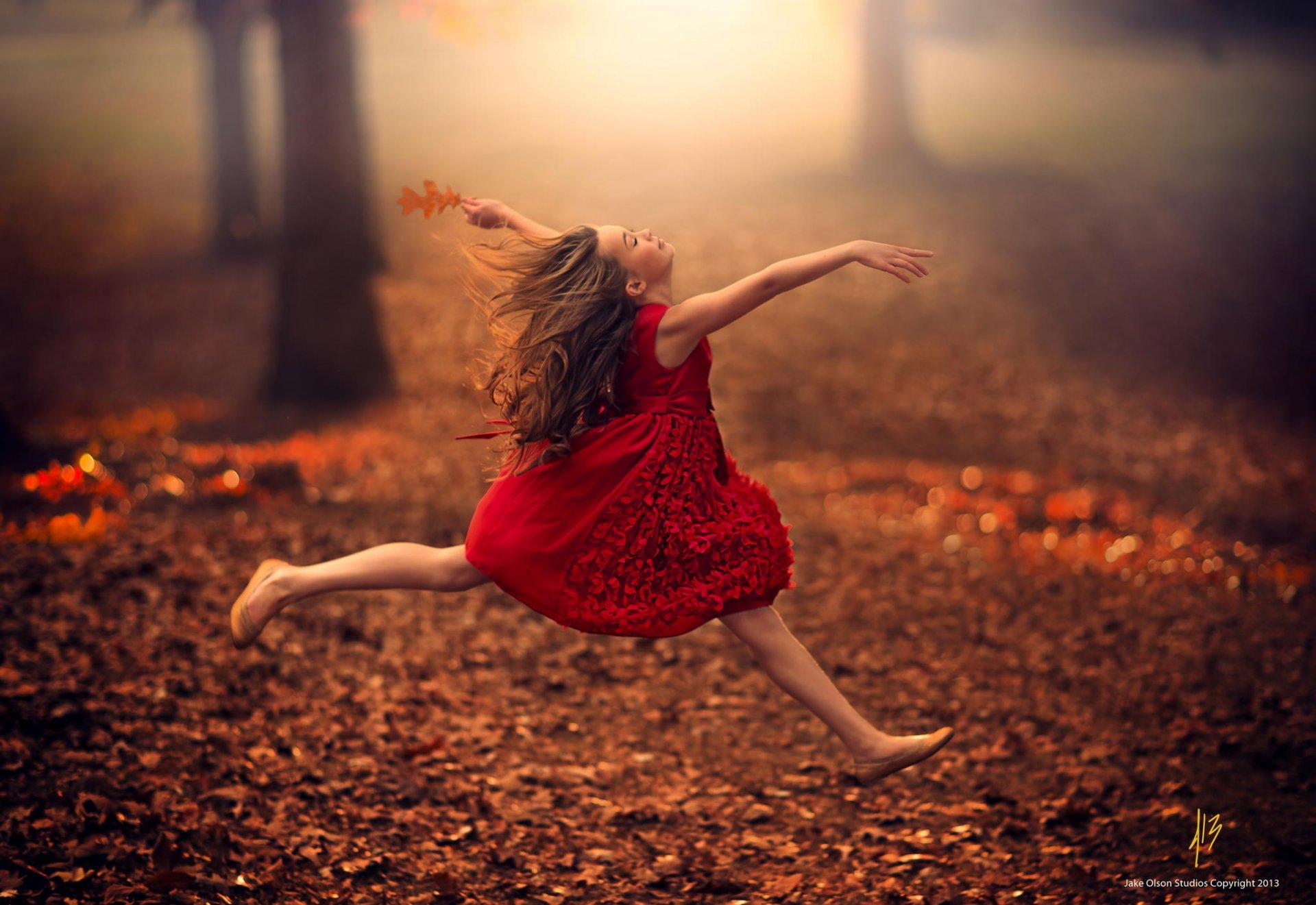 Танец осени картинки
