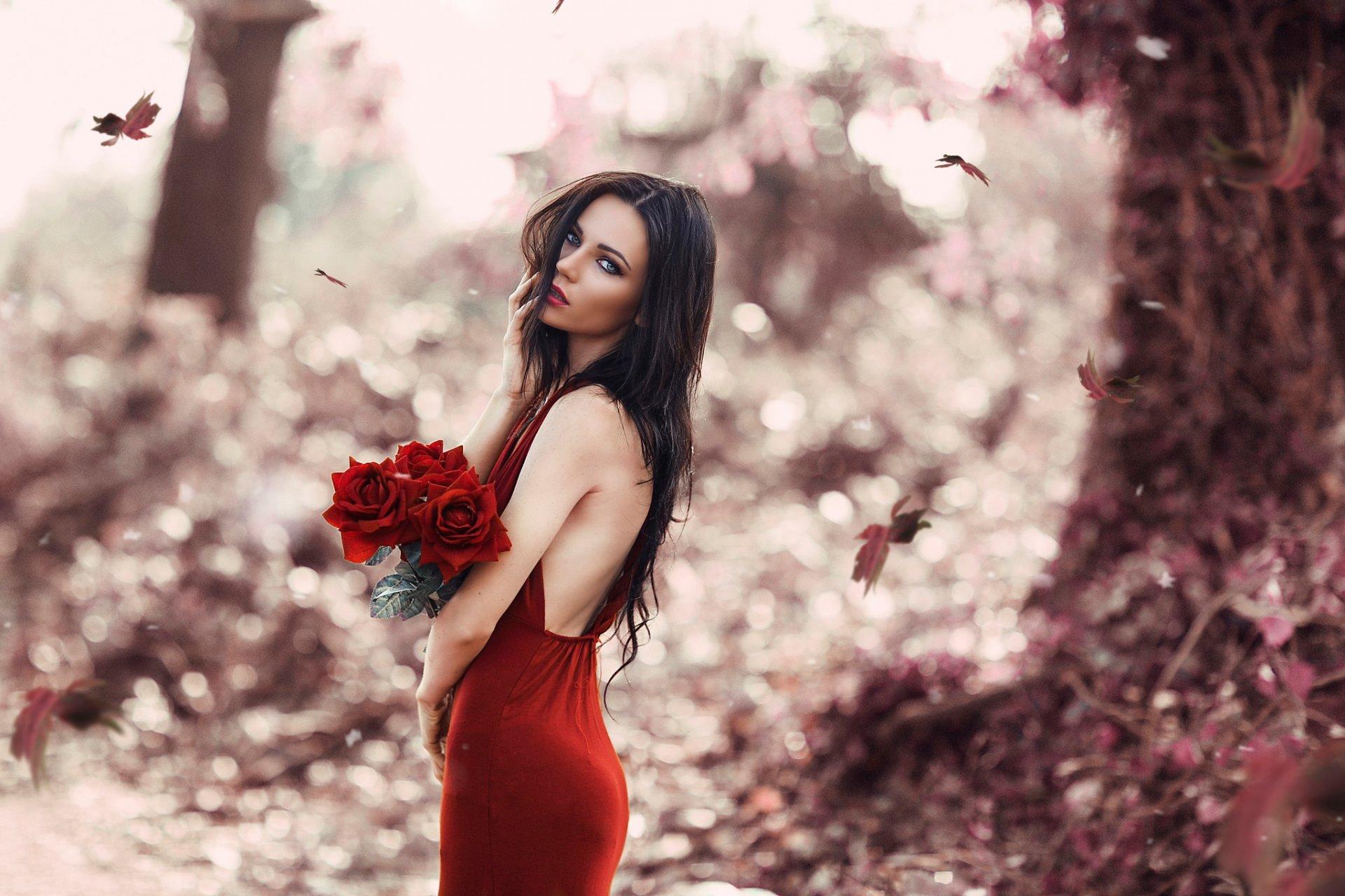 Hd фото девушек в платьях