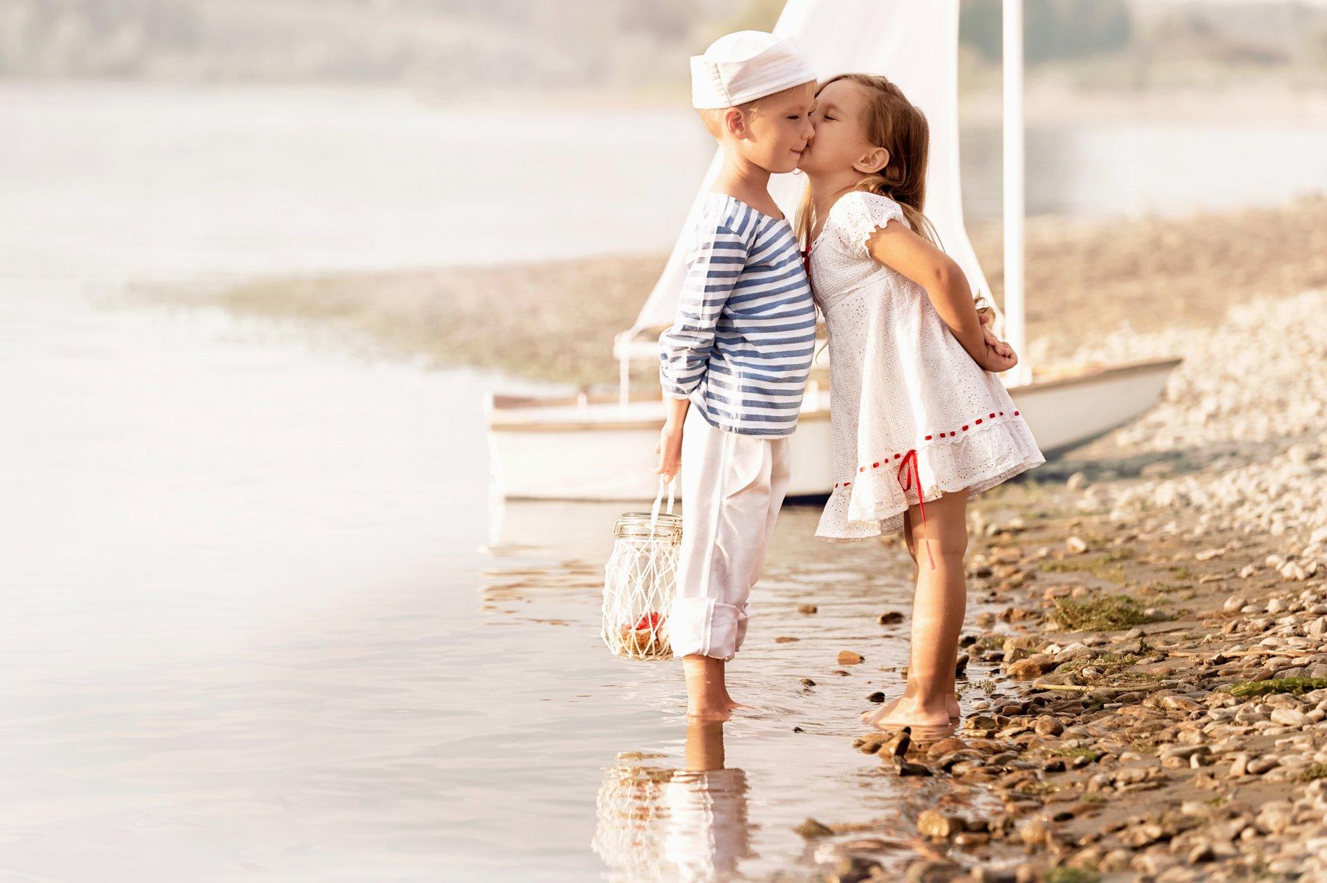 Прикольная, милые картинки с девочкой и мальчиком