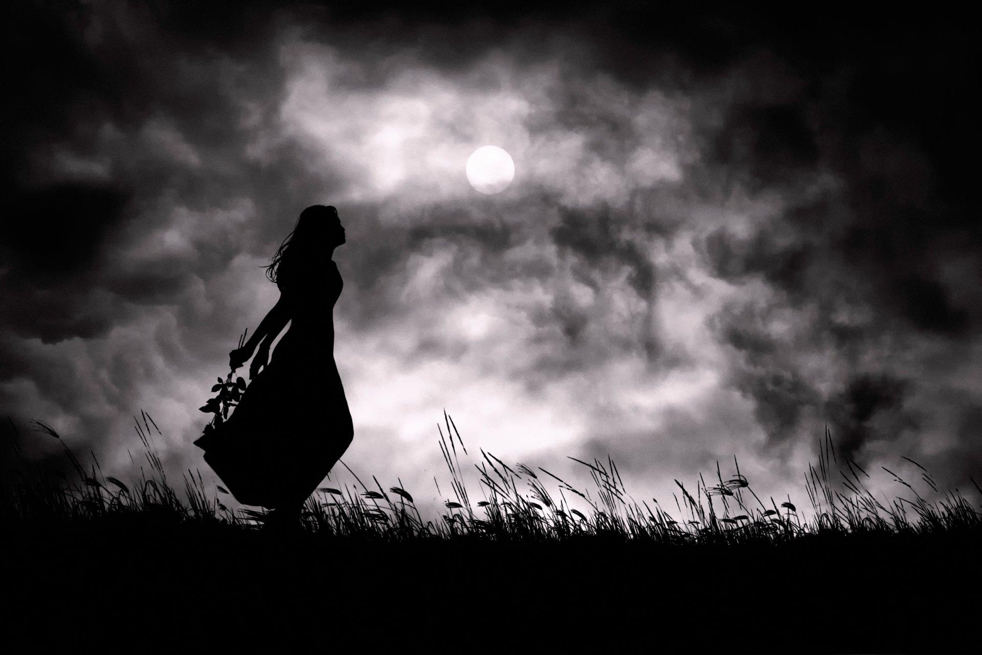 фото одиночество и мрака кожаные