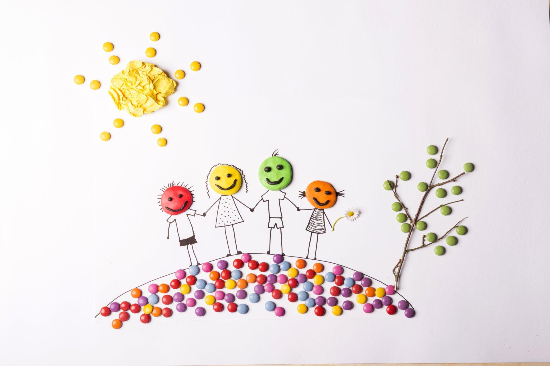 Поделки счастье в семье