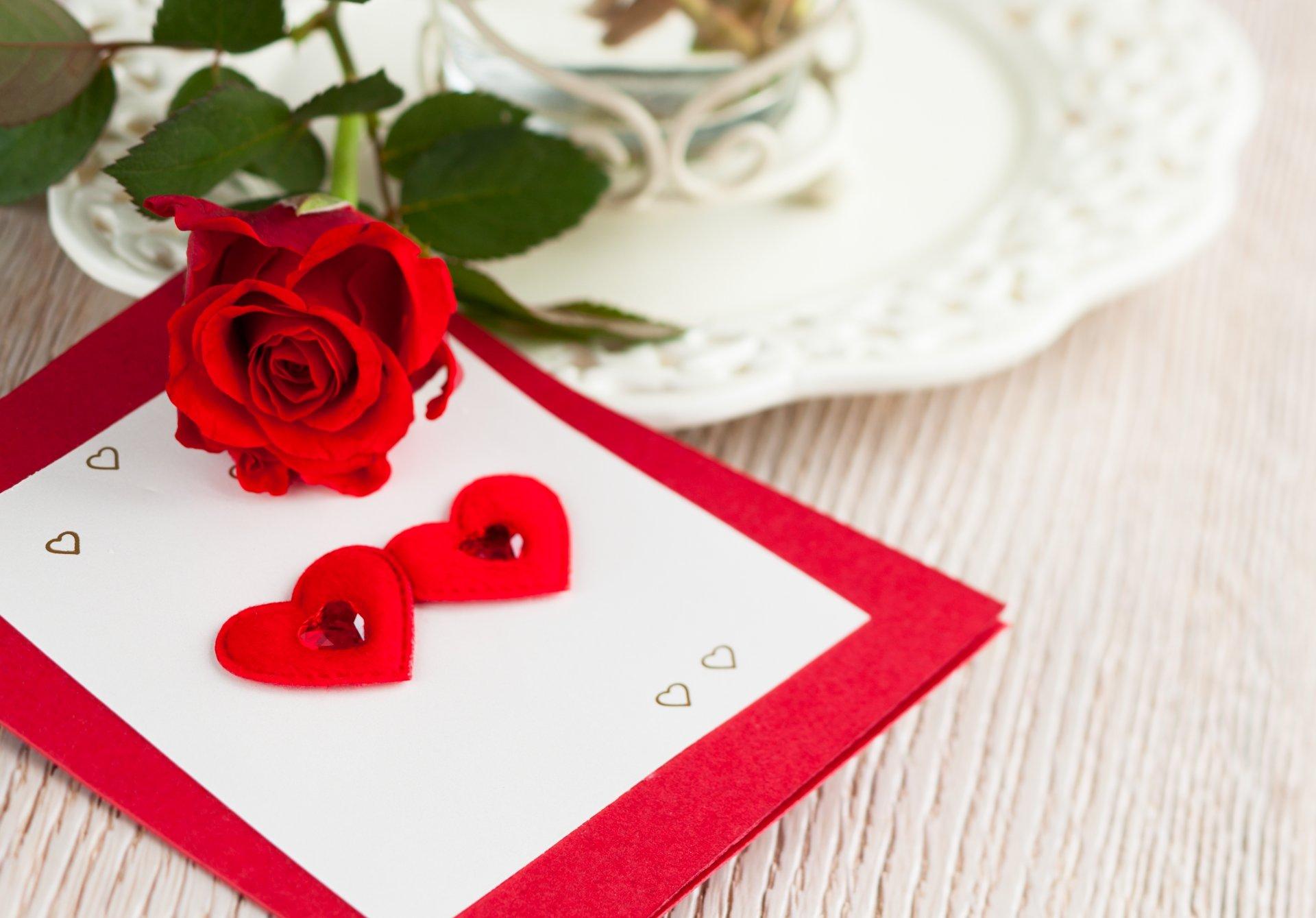 С Днем Сердца открытка - Любовь и романтика - Анимационные блестящие 42