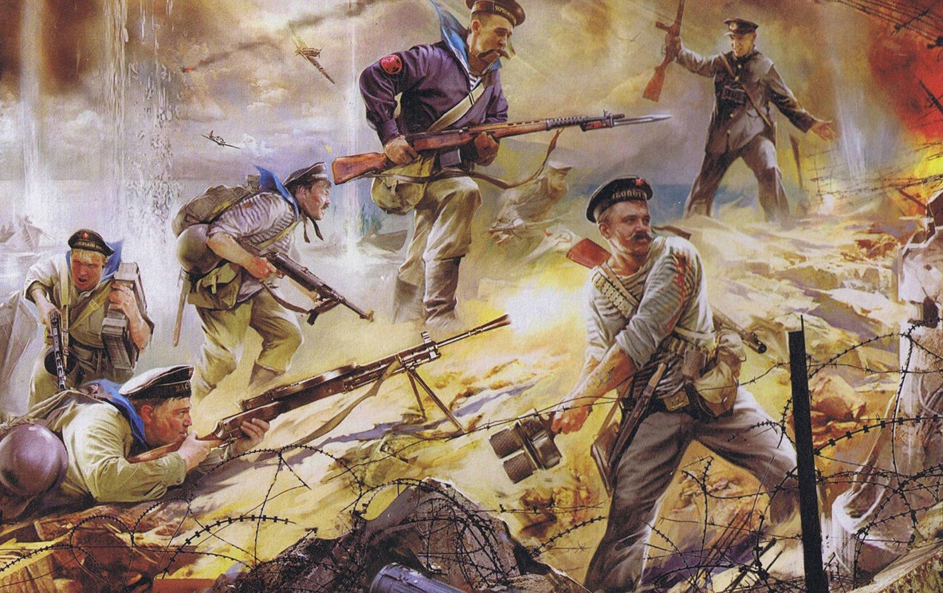 Обои на рабочий стол война 1941 1945