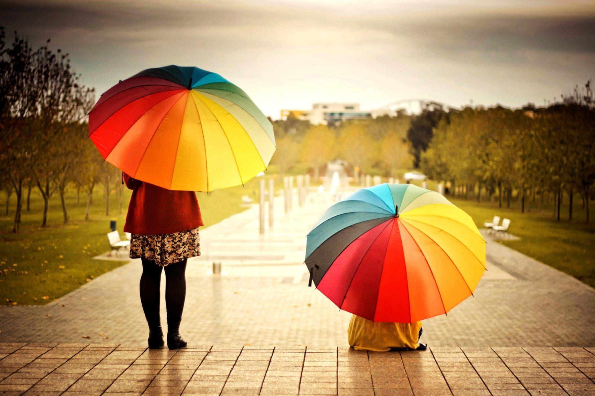 Обои зонты. Настроения foto 8