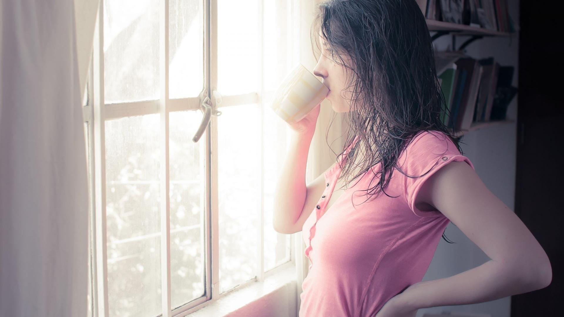 Обои настроение, Девочка, окно. Разное foto 10