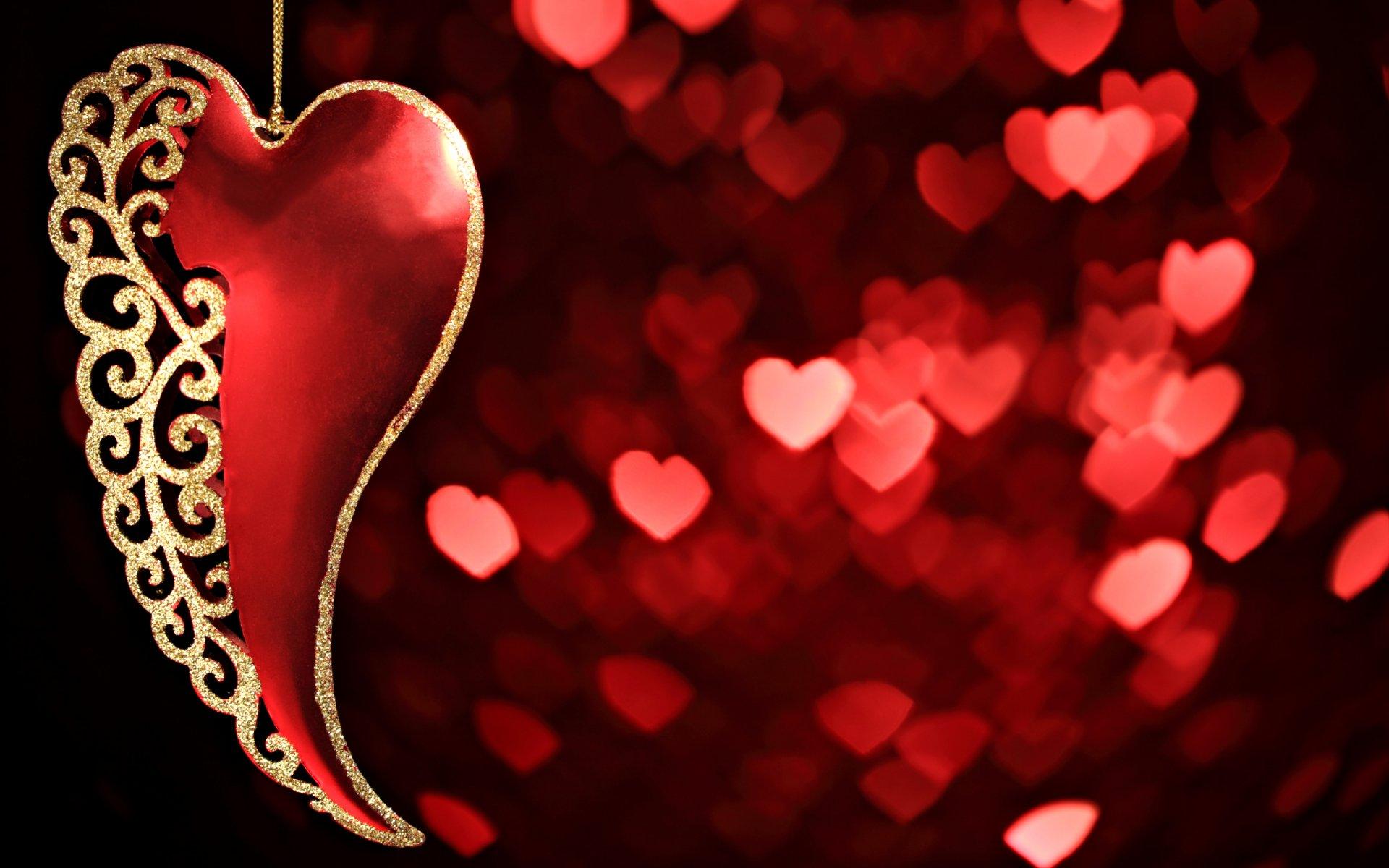 Фронта, открытка влюбленное сердце