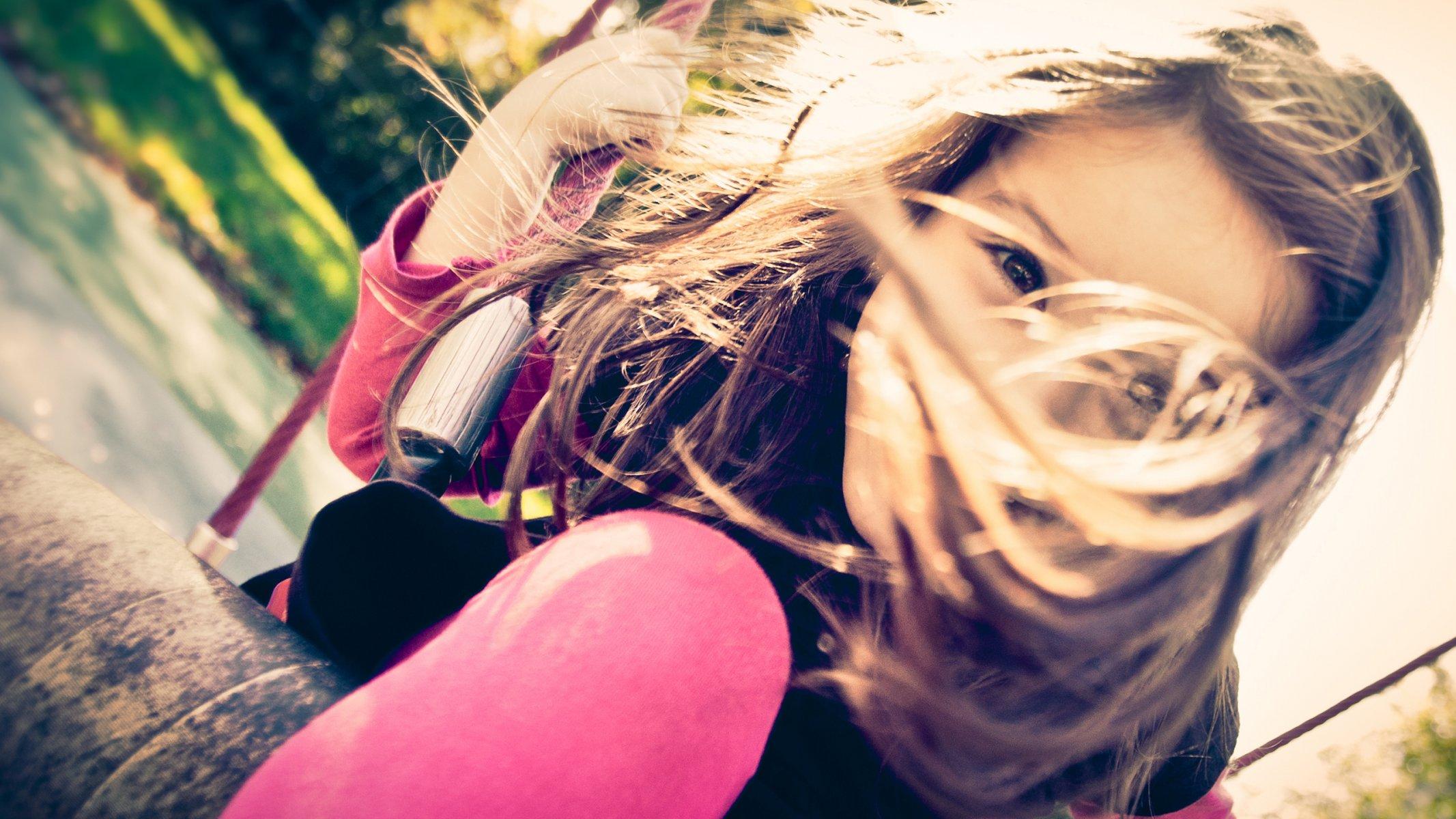 Обои качели, свобода, лето, радость. Настроения foto 12