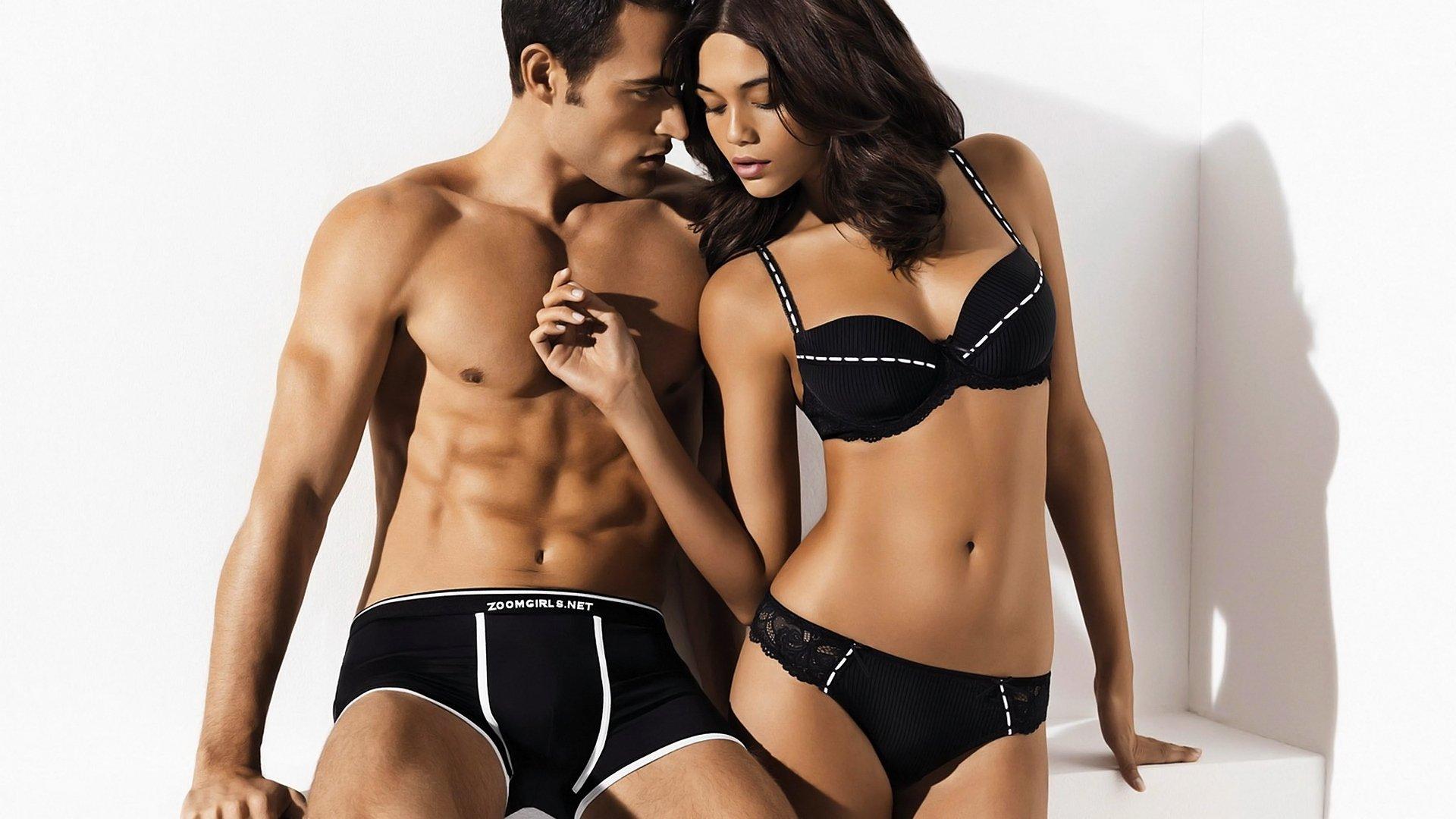 мужчина женщина отношения белье люди красивые пара HD обои для ноутбука