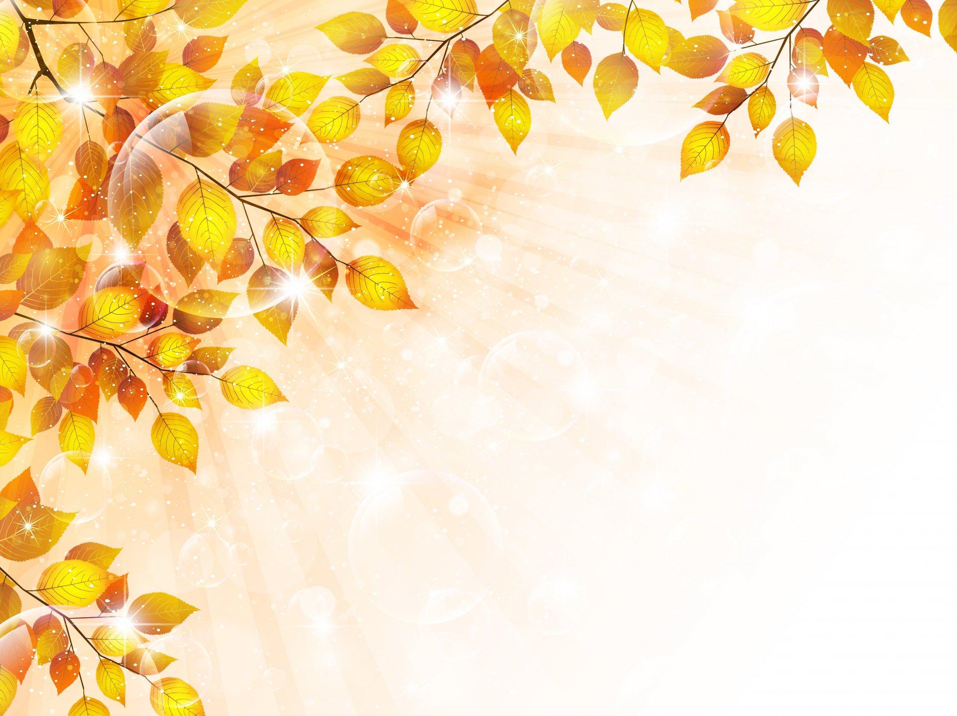 осенние листья картинки для оформления презентации фонтанчики, водопады