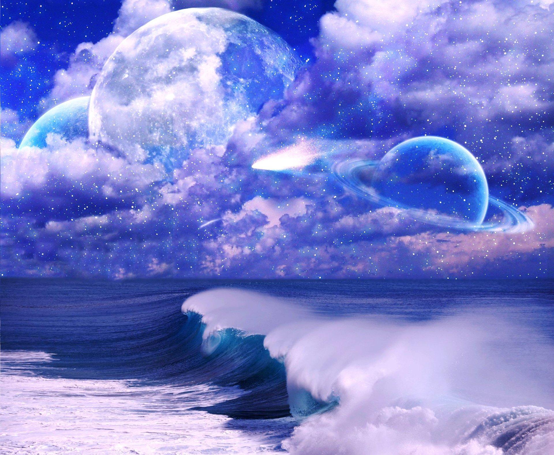 картинки фантастическое небо гиф делом нам