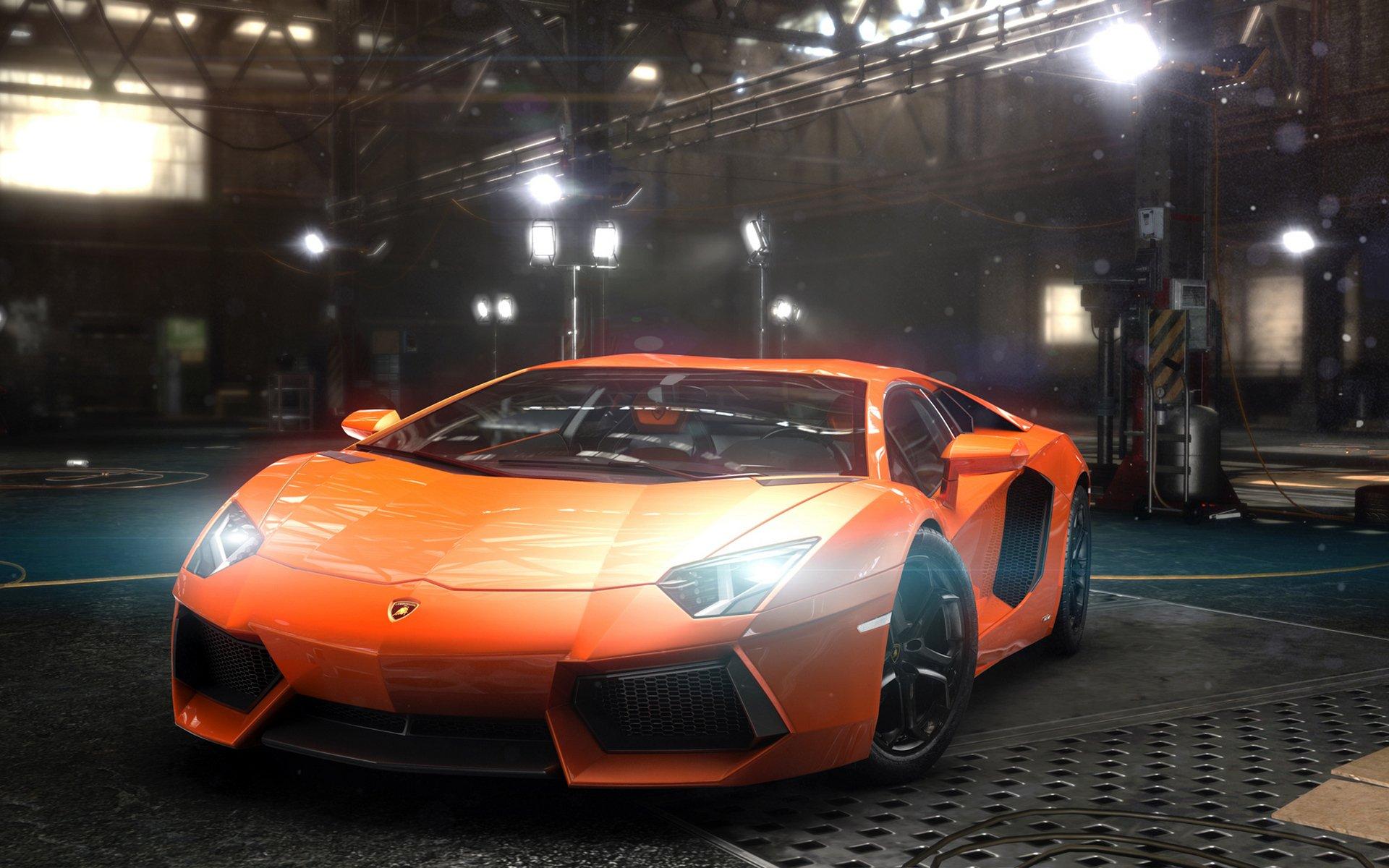 Lamborghini aventador и девушки сексапильни