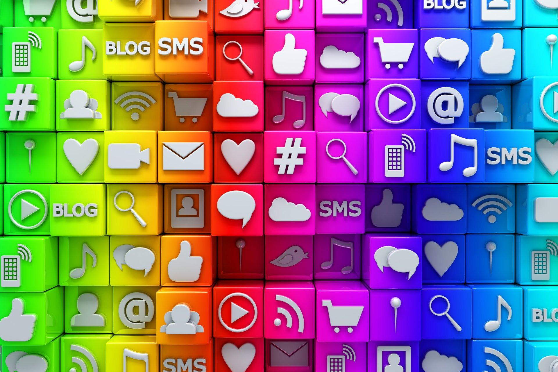 Как сделать свои кнопки соц сетей