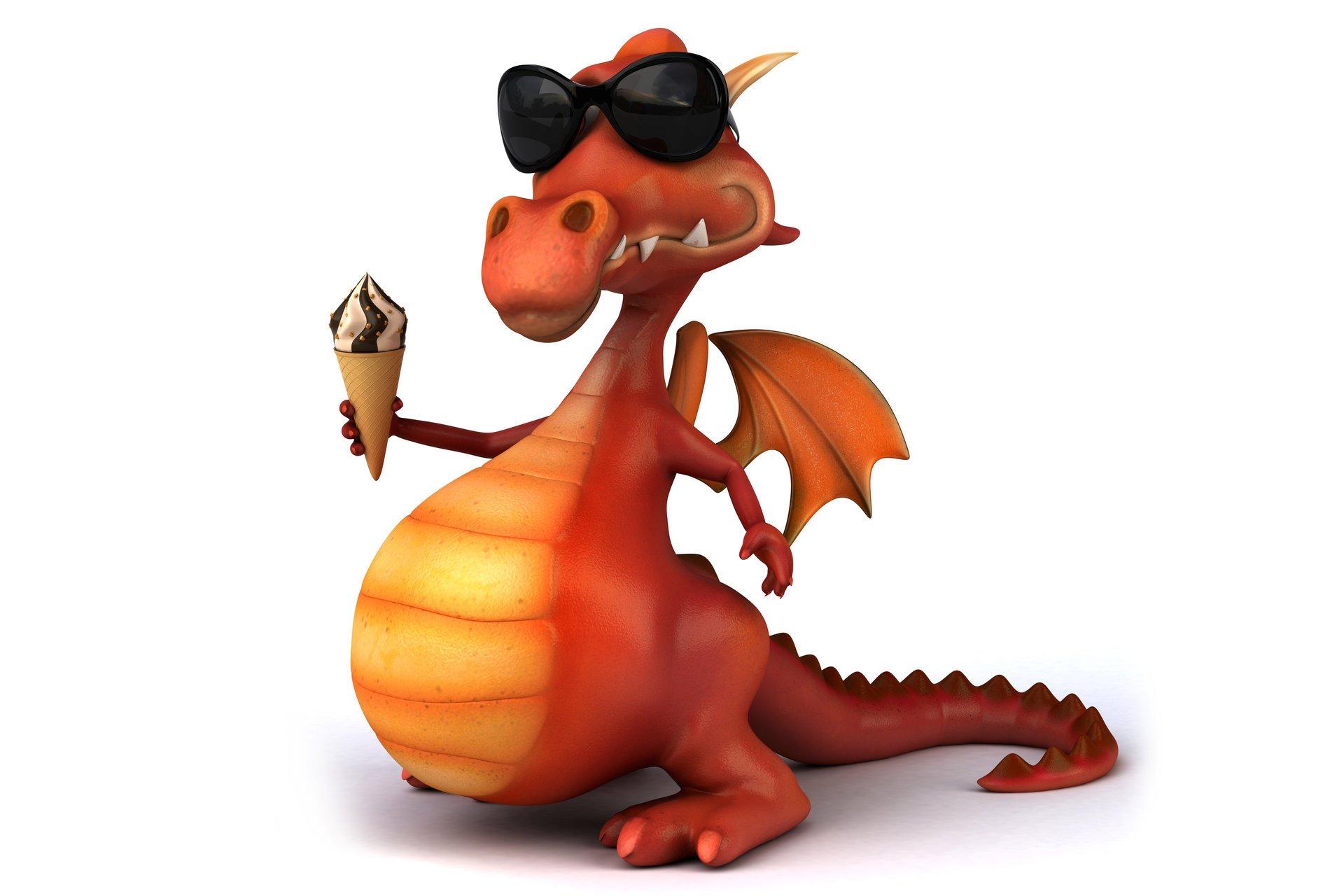 Смешные дракон картинки, комплиментами