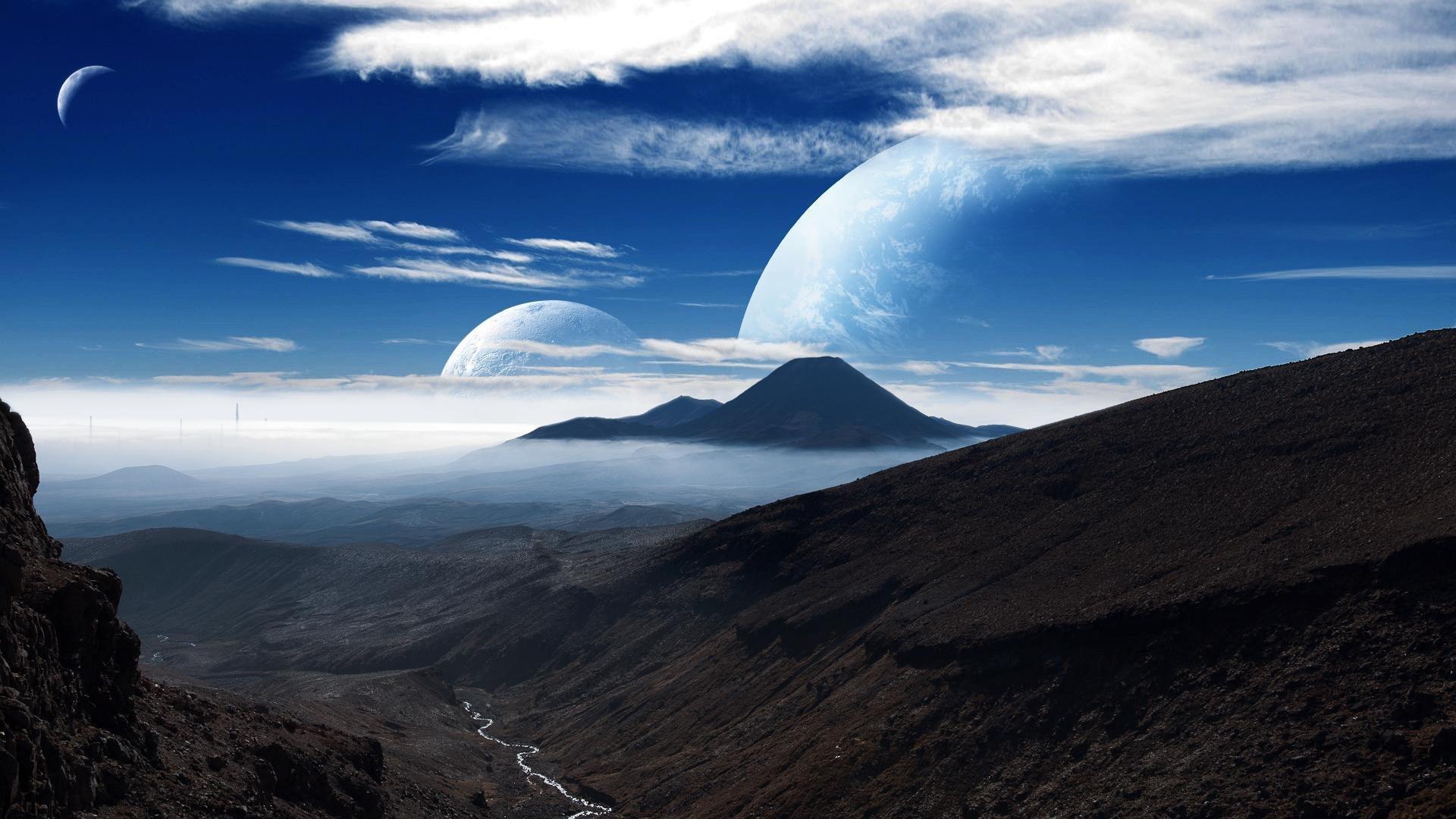 Картинки луны и других планет объявлениях есть