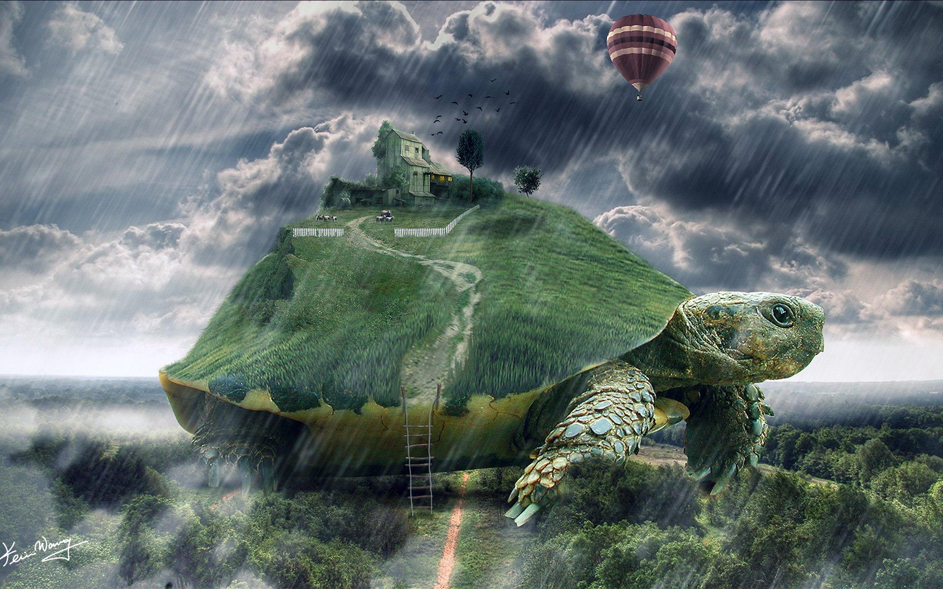 Гигантская черепаха арты