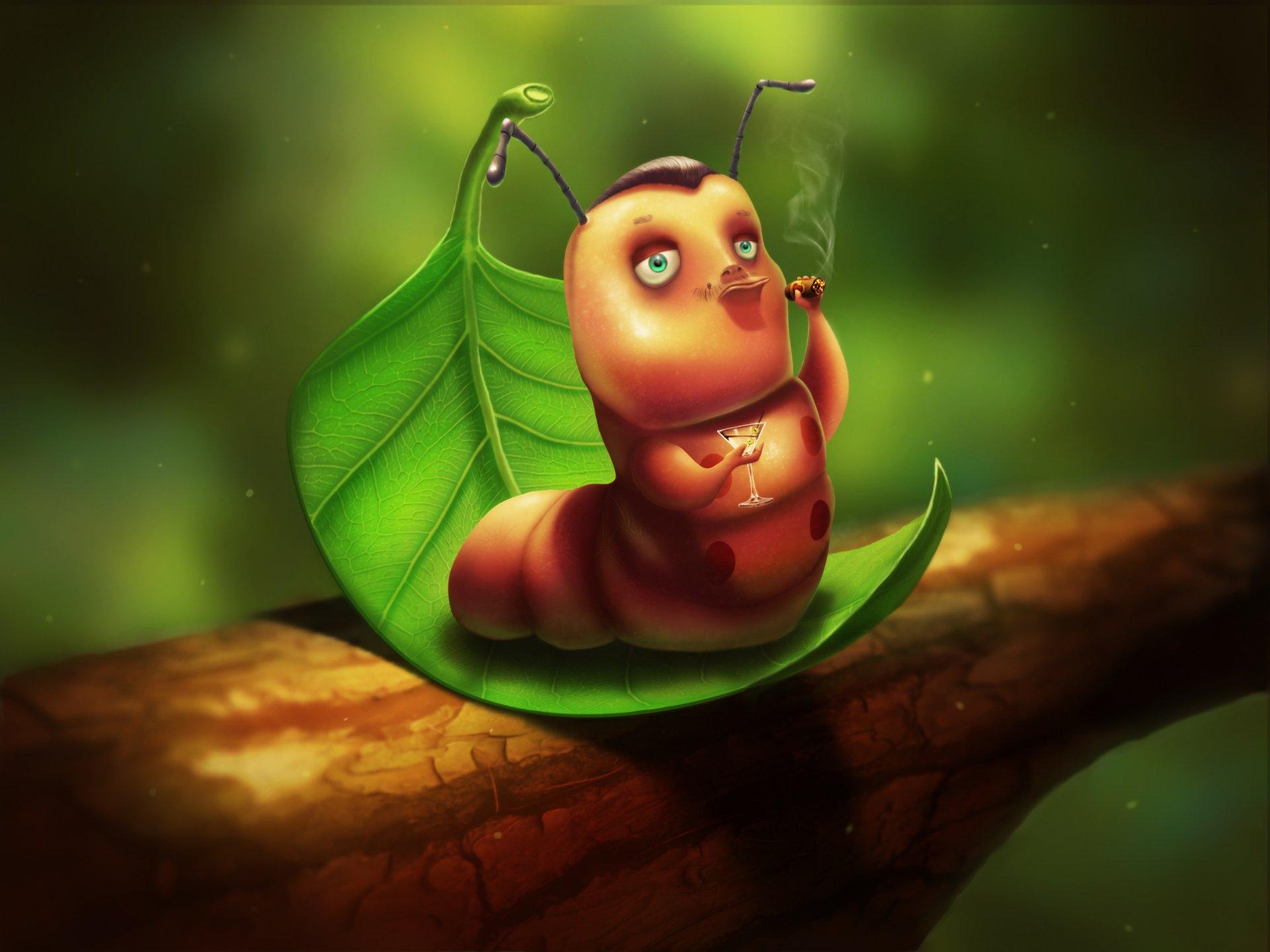 Картинки гусеницы прикольные, кому-то
