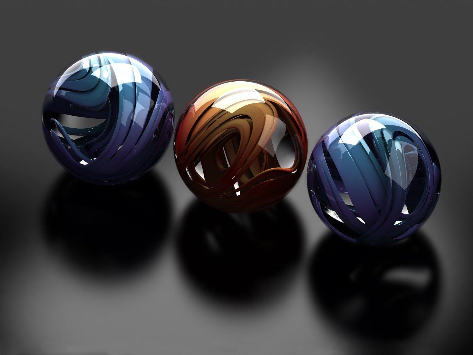 Хромированые шары  № 3336039  скачать