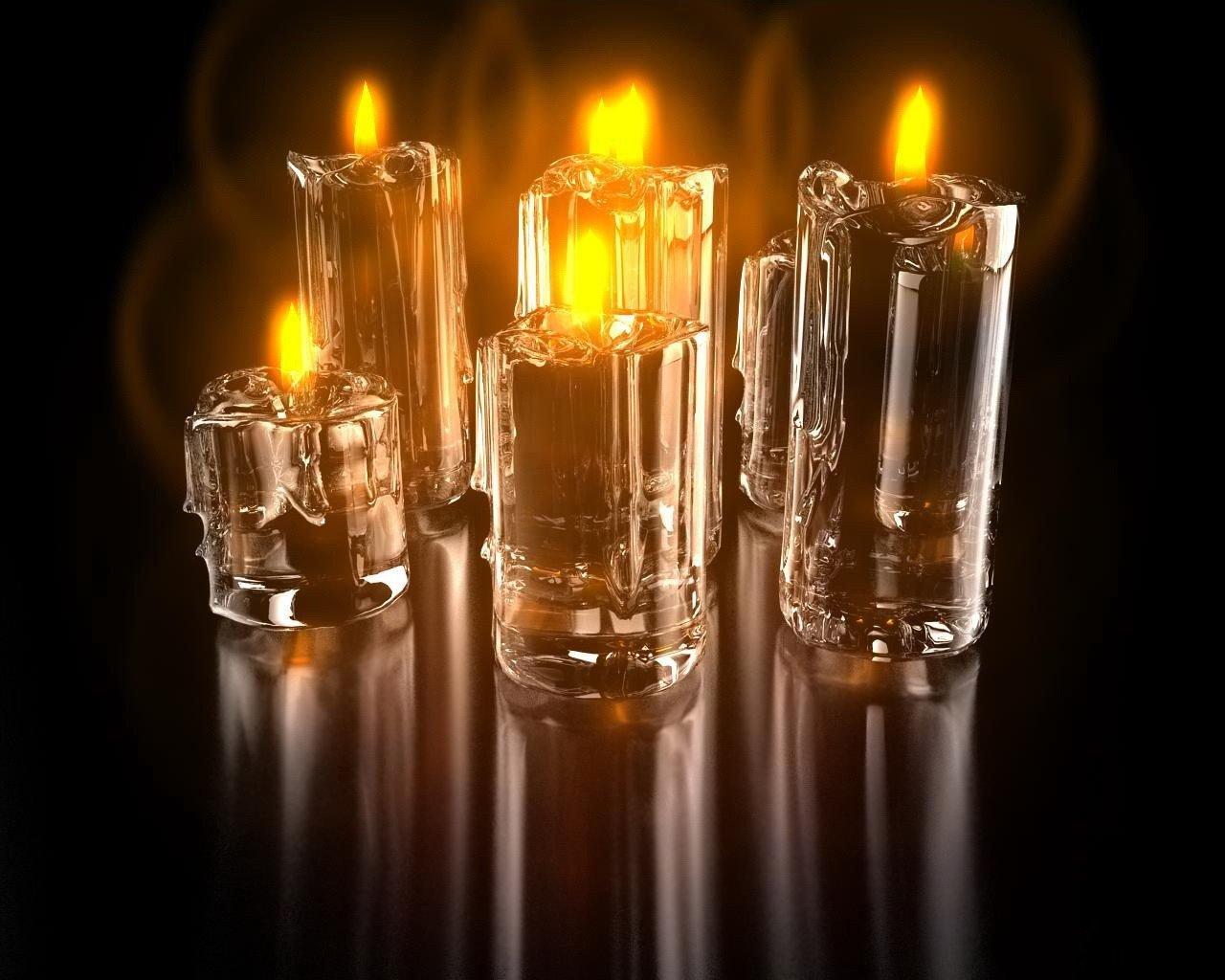 свечи пламя отражение загрузить