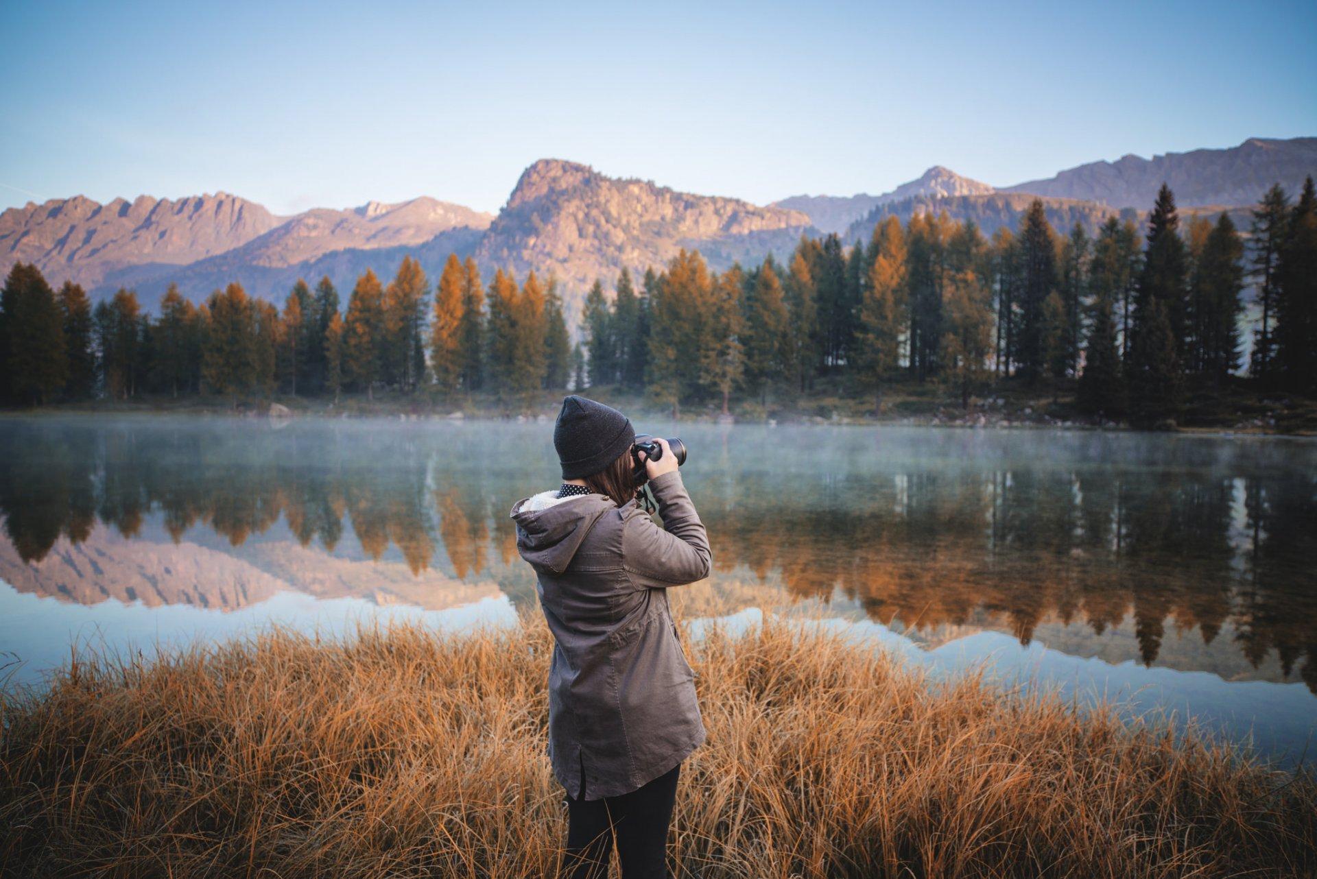 как фотографировать человека на фоне пейзажа владельцев