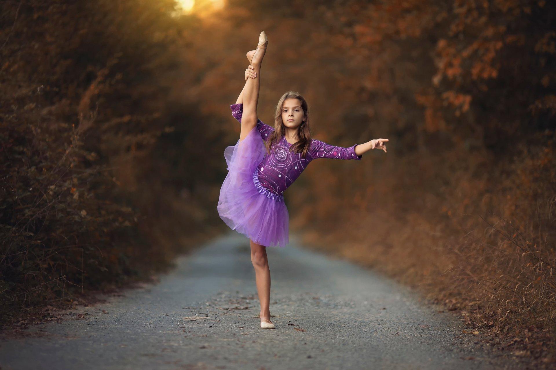 фото девочек балерин