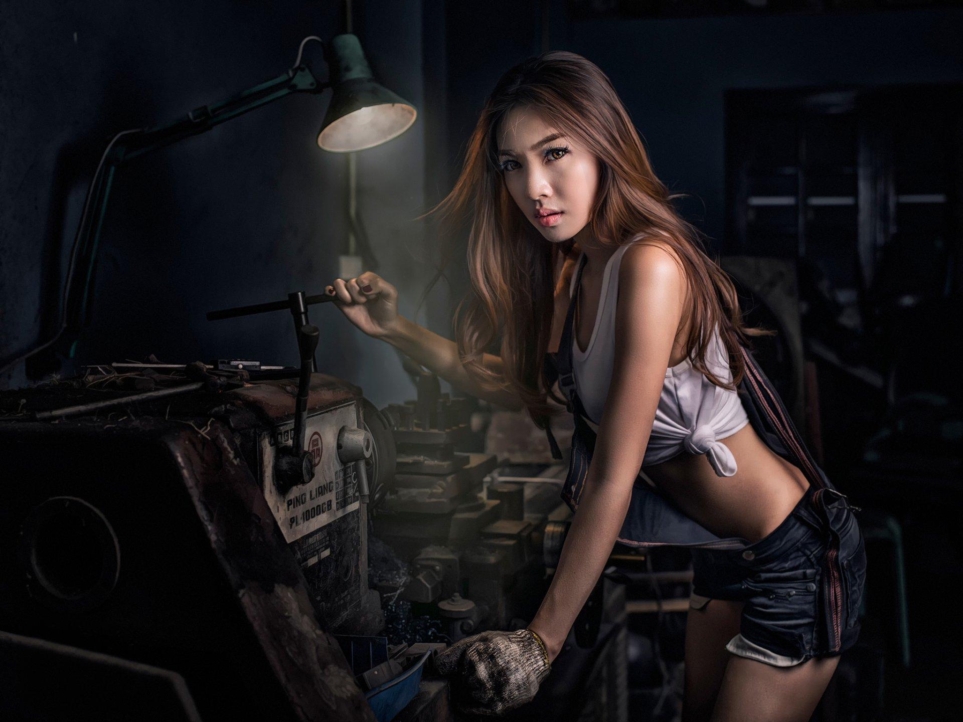 Фото рабочий станок девки самое