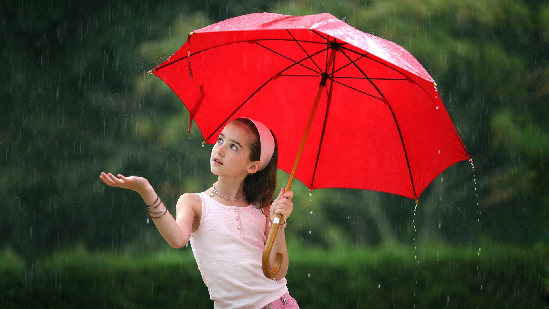 Именем наташа, картинка с девочкой с зонтиком