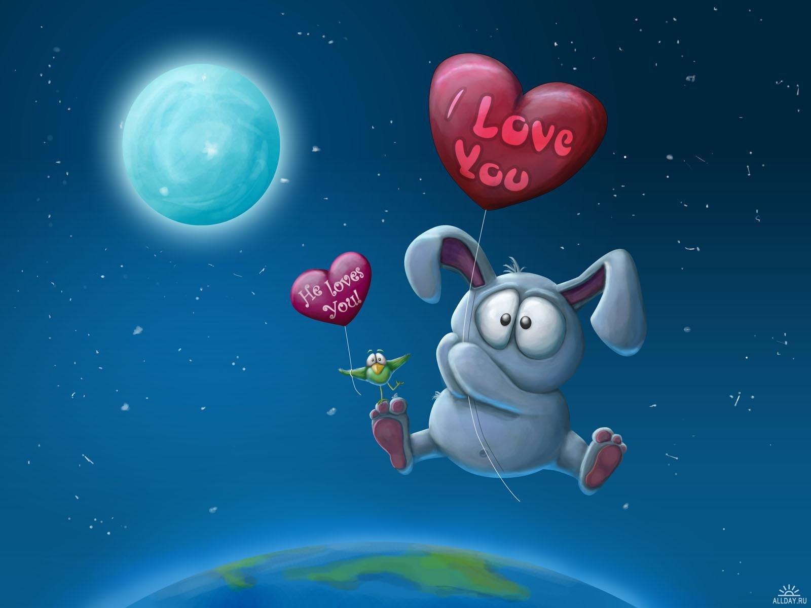 Гиф, смешные рисунки о любви