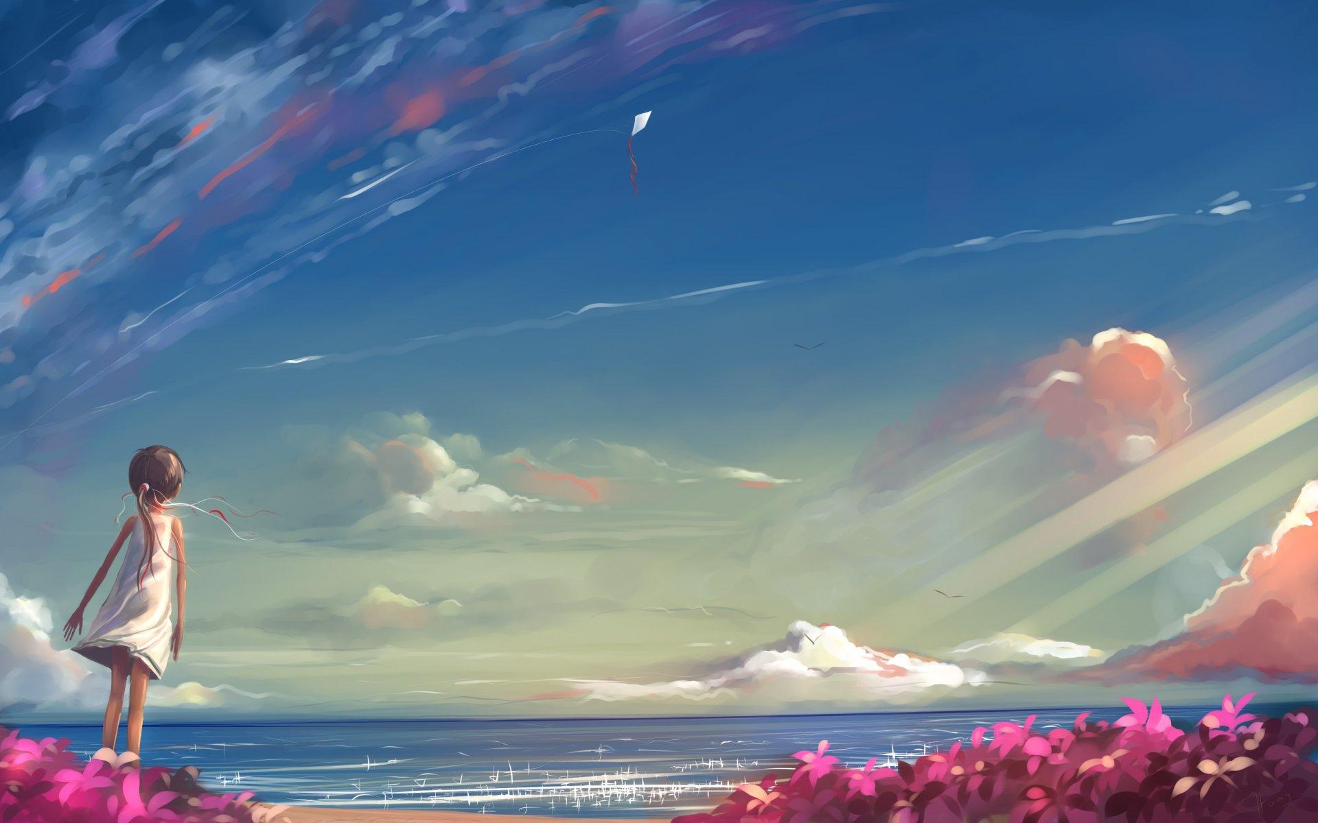 Я рисую небо а оно льет воду