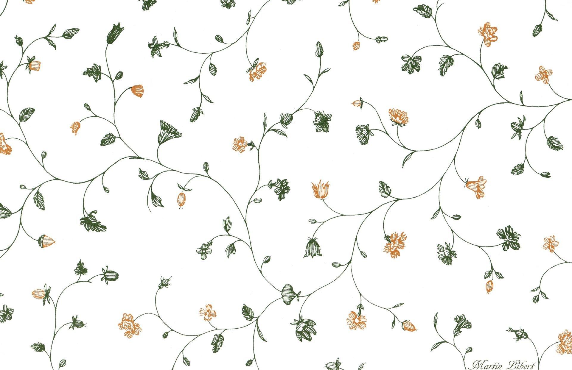 белый фон узор рисукок текстура уют цветы HD обои для ноутбука