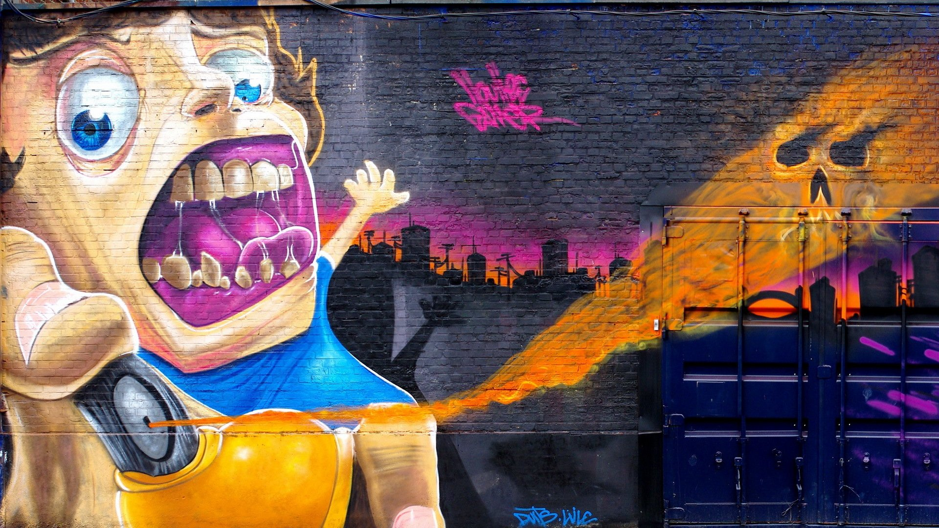 помолвочные обои на телефон граффити на стенах намного