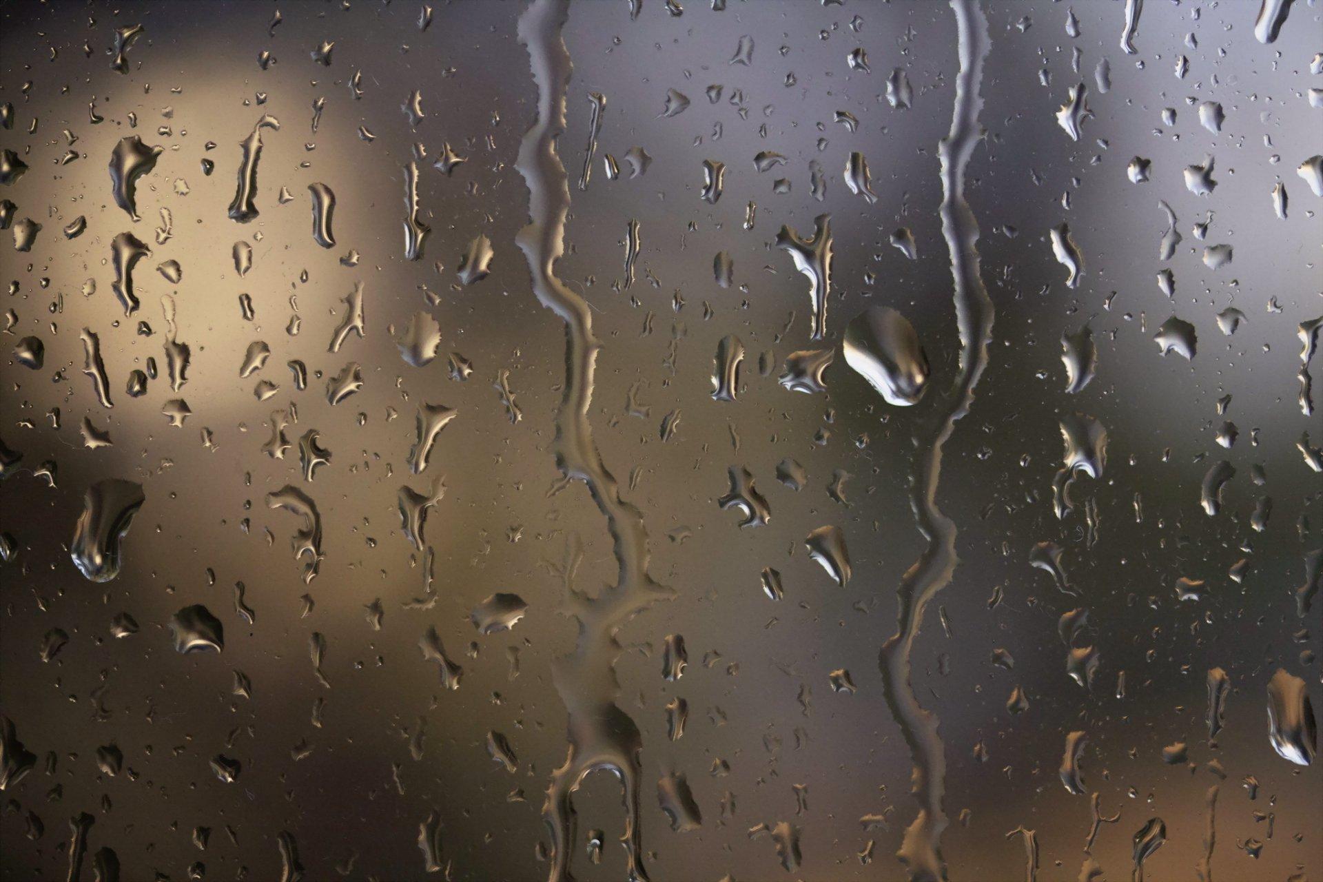 Обои капли, дождь, стекло. Разное foto 7