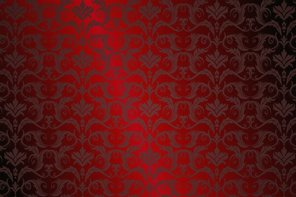 red dark vintage pattern gradient vector texture background винтаж ретро узор орнамент