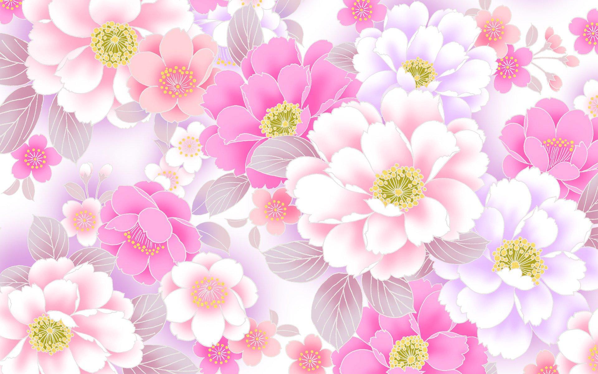 Крещением, открытки с цветочным фоном