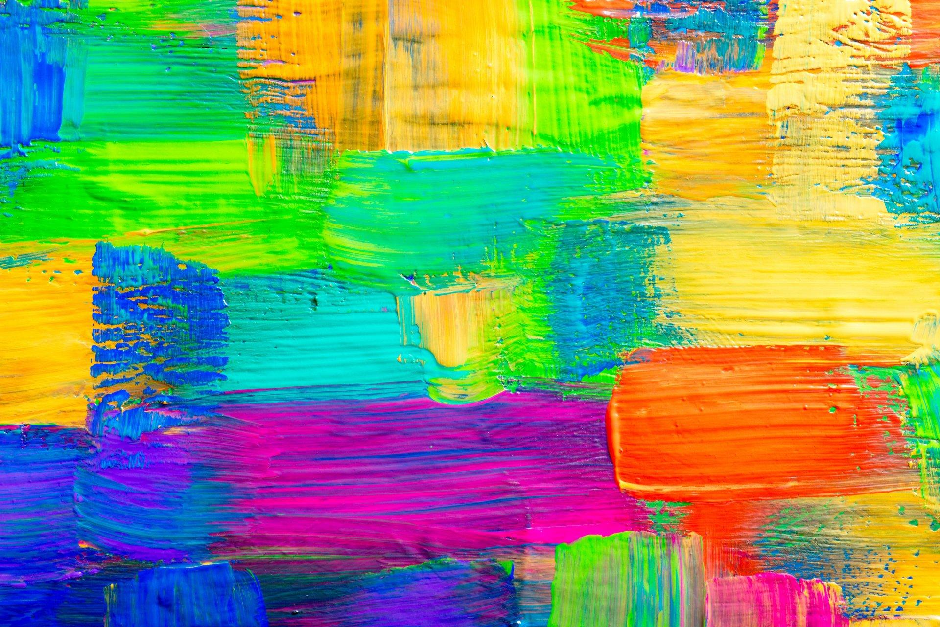 Картинки красок на фон