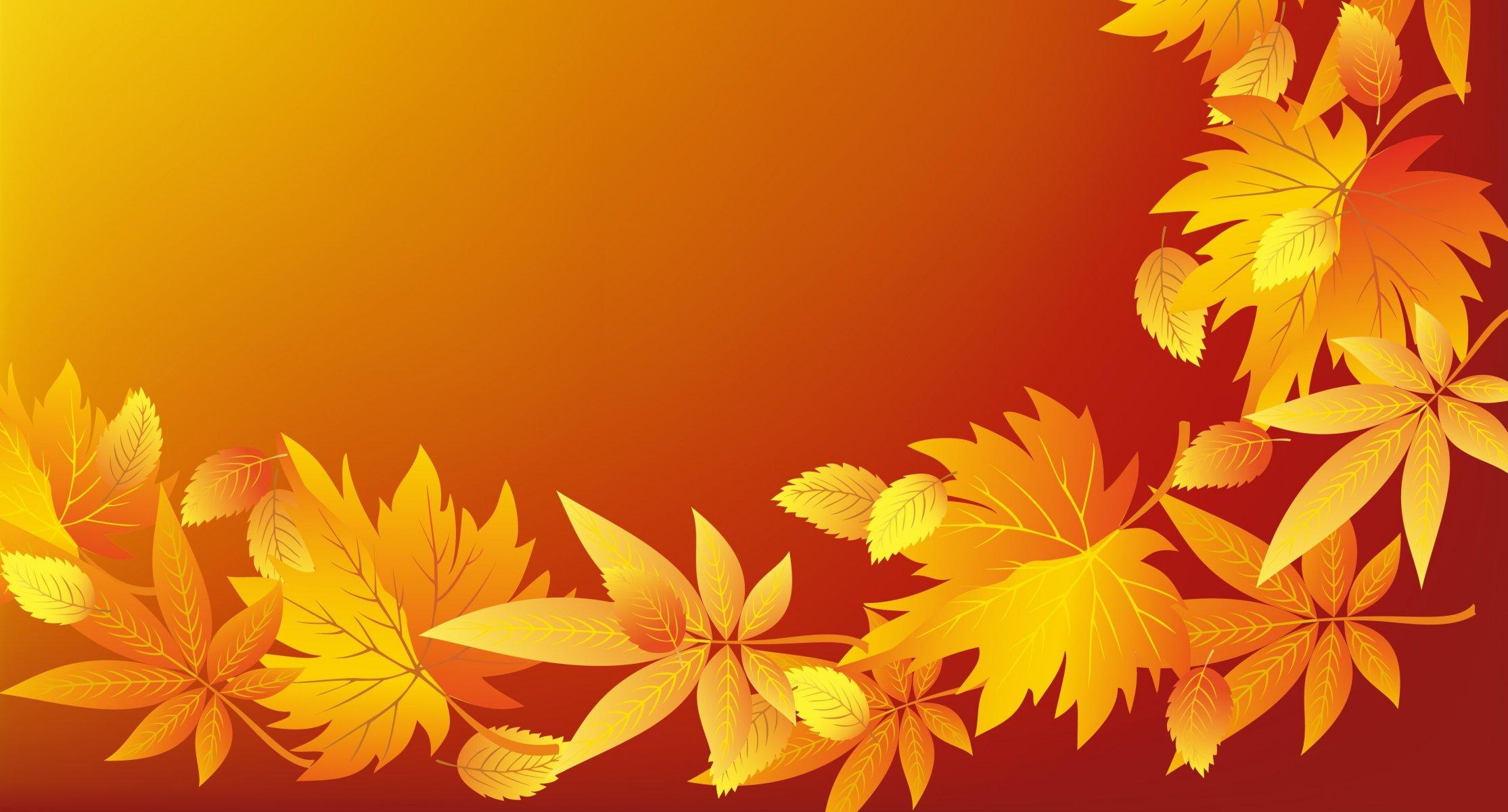 Открытка фон осень, картинки мультиков