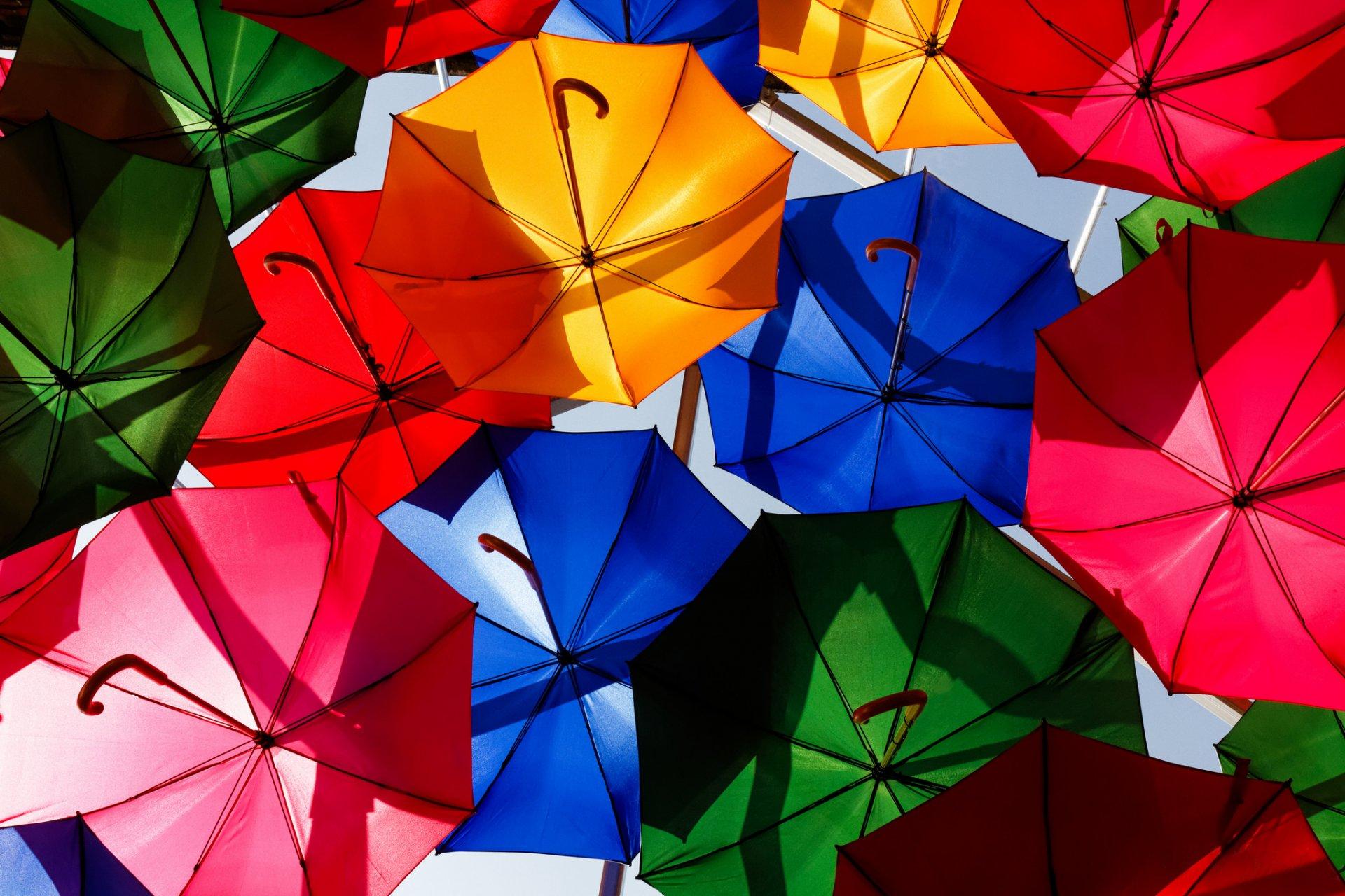 Обои зонты. Настроения foto 12