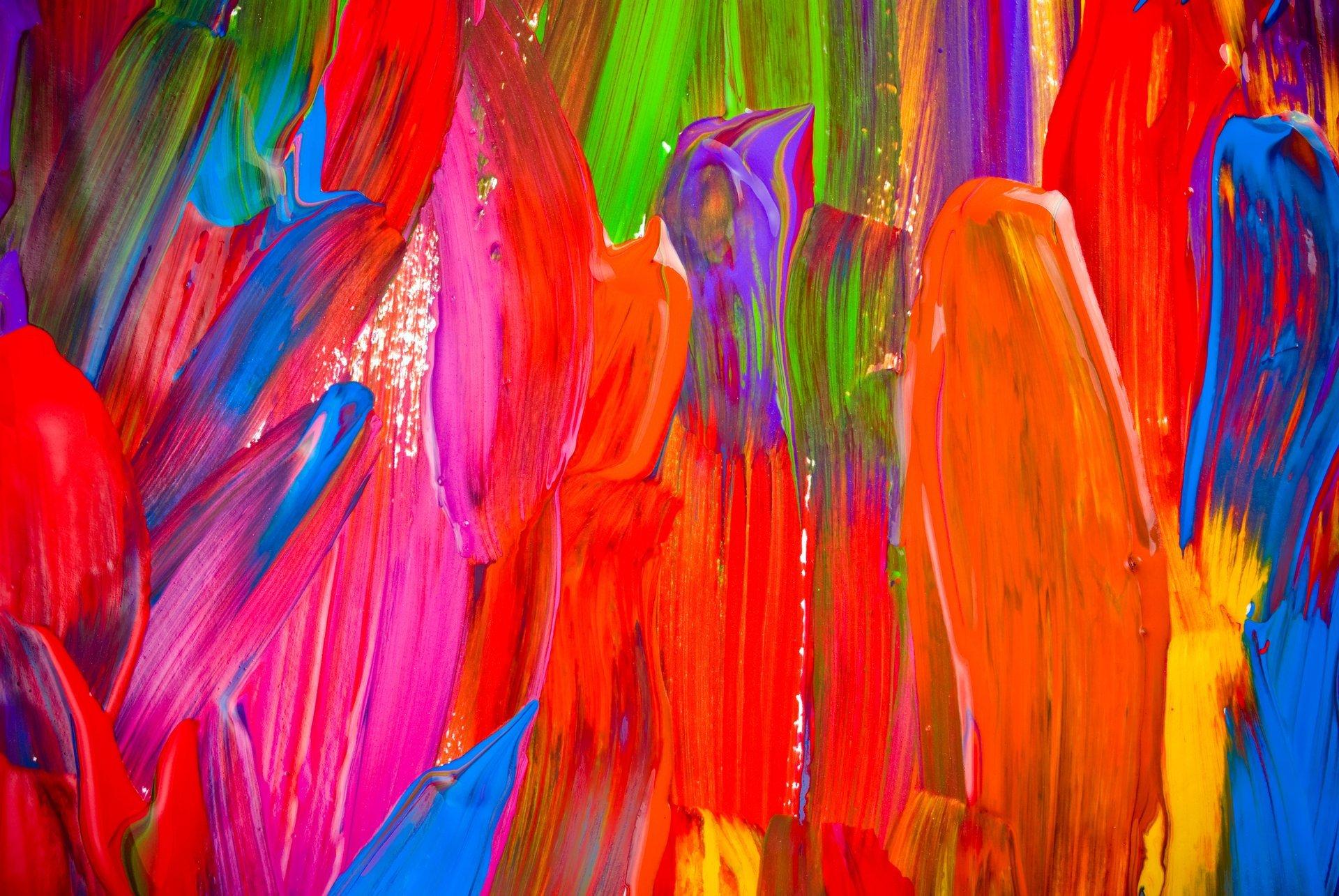 Пальцы краска  № 685870 бесплатно